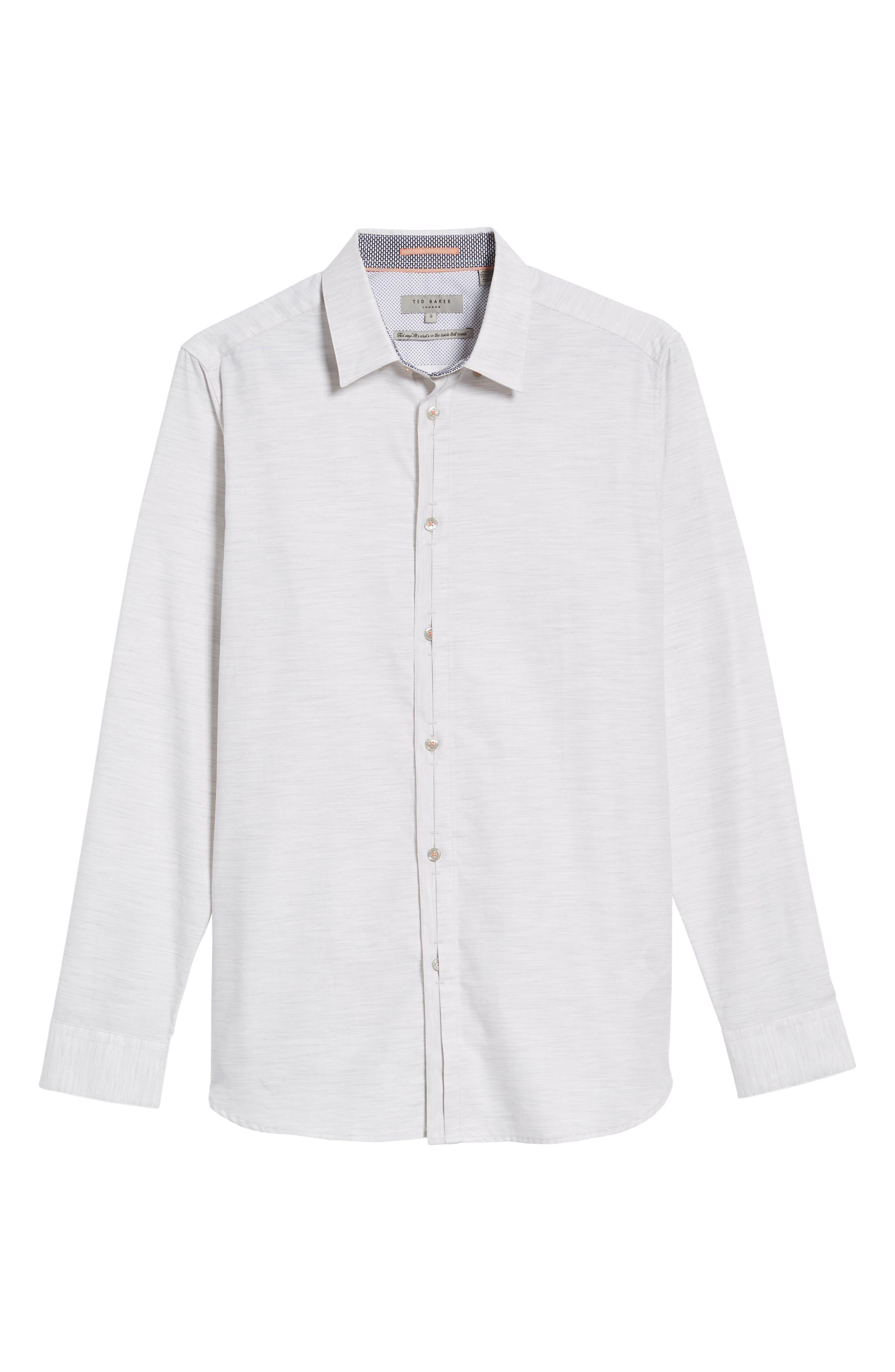 Annisley Modern Slim Fit Sport Shirt,                             Alternate thumbnail 6, color,                             031