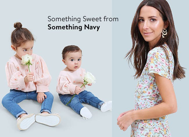 Something sweet from Something Navy: clothing for girls and women.