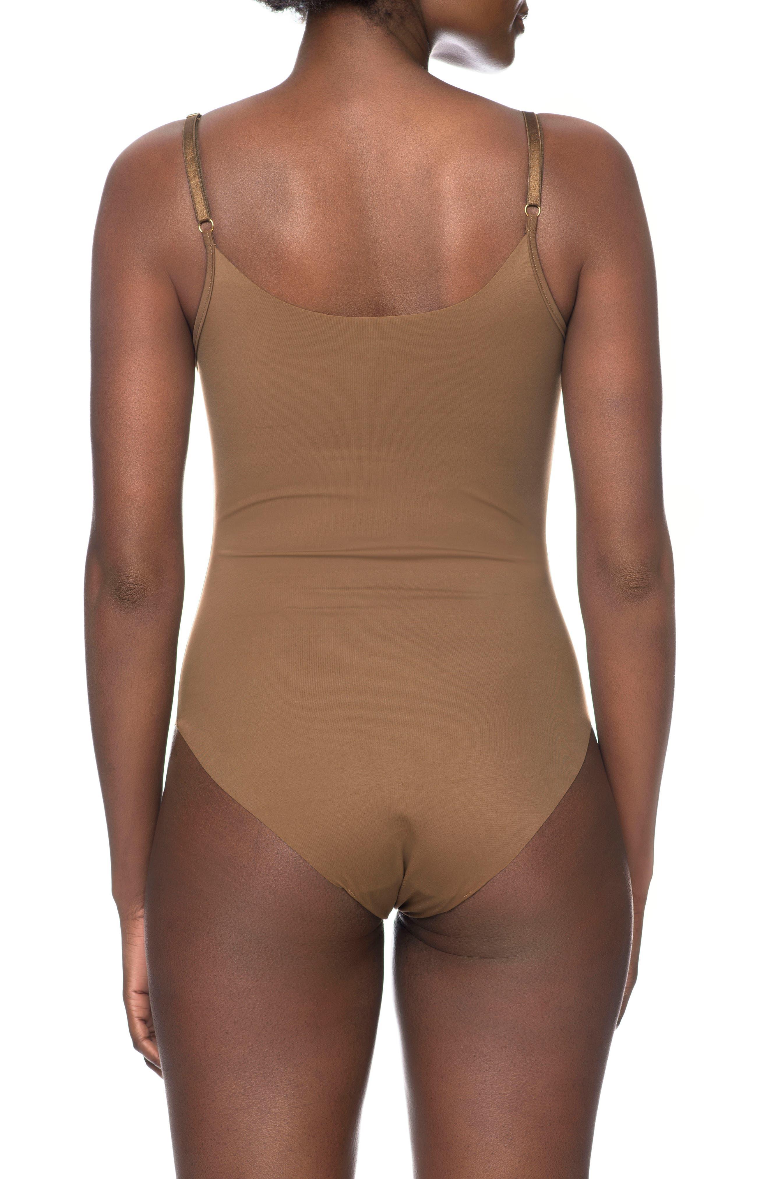 Naked Bodysuit,                             Alternate thumbnail 2, color,                             BERRY