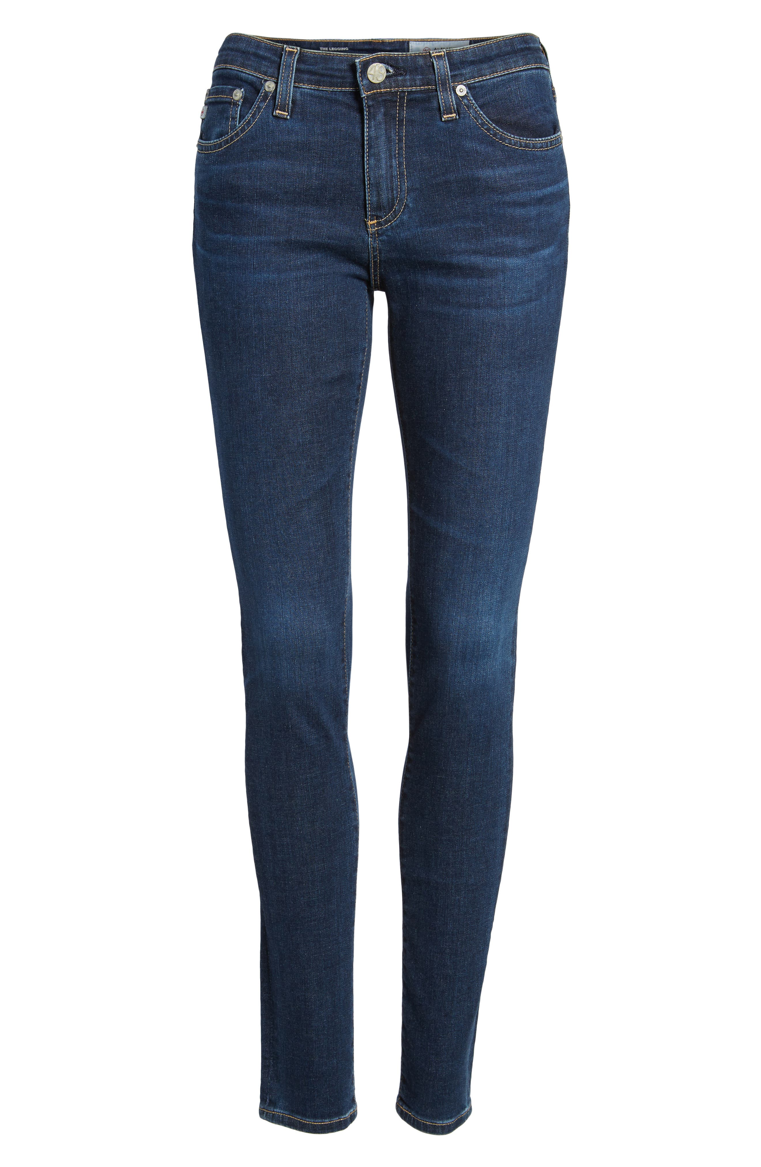 'The Legging' Super Skinny Jeans,                             Alternate thumbnail 55, color,