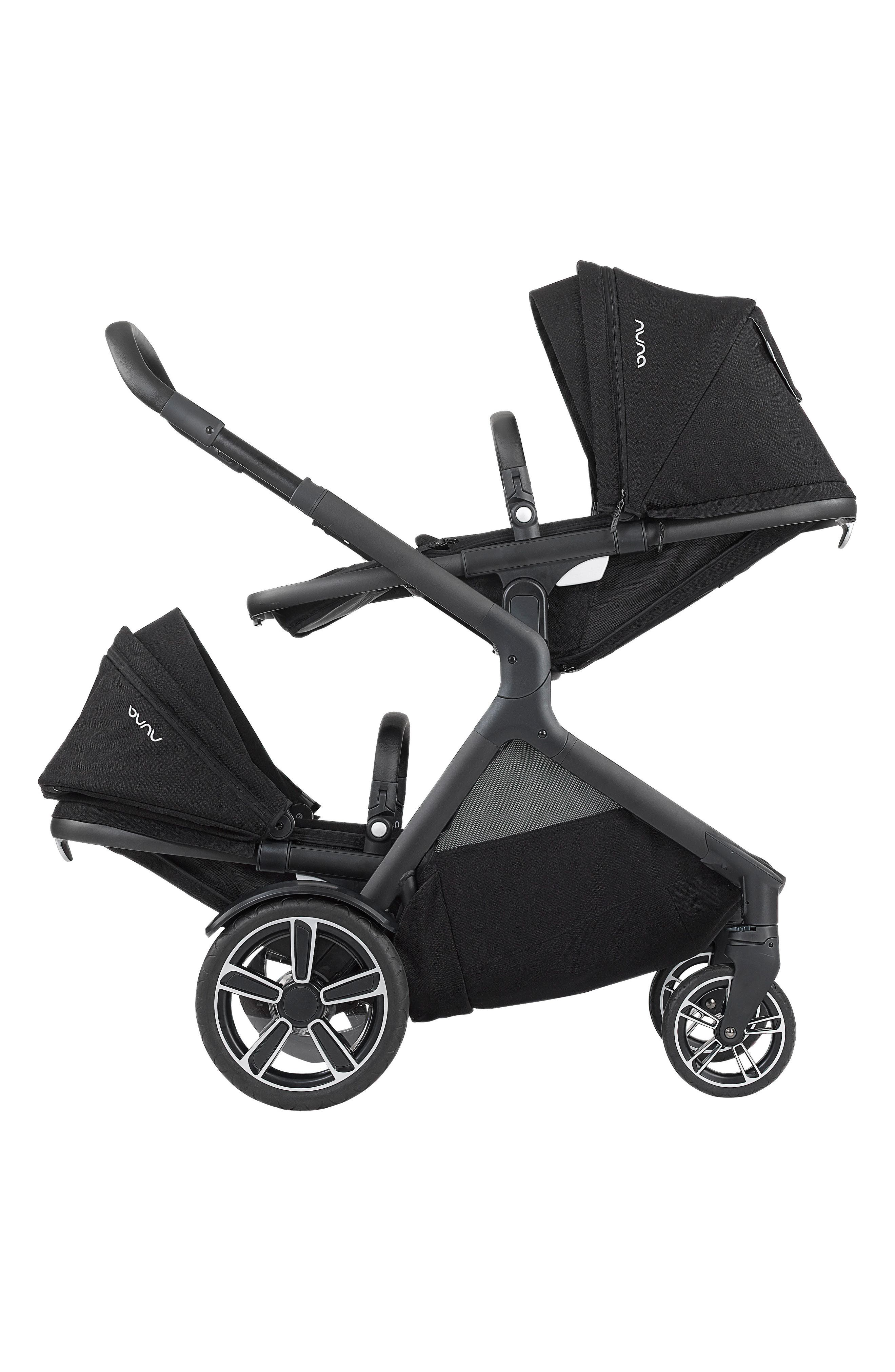DEMI<sup>™</sup> Grow Sibling Seat Attachment for DEMI Grow Stroller,                             Alternate thumbnail 3, color,                             CAVIAR