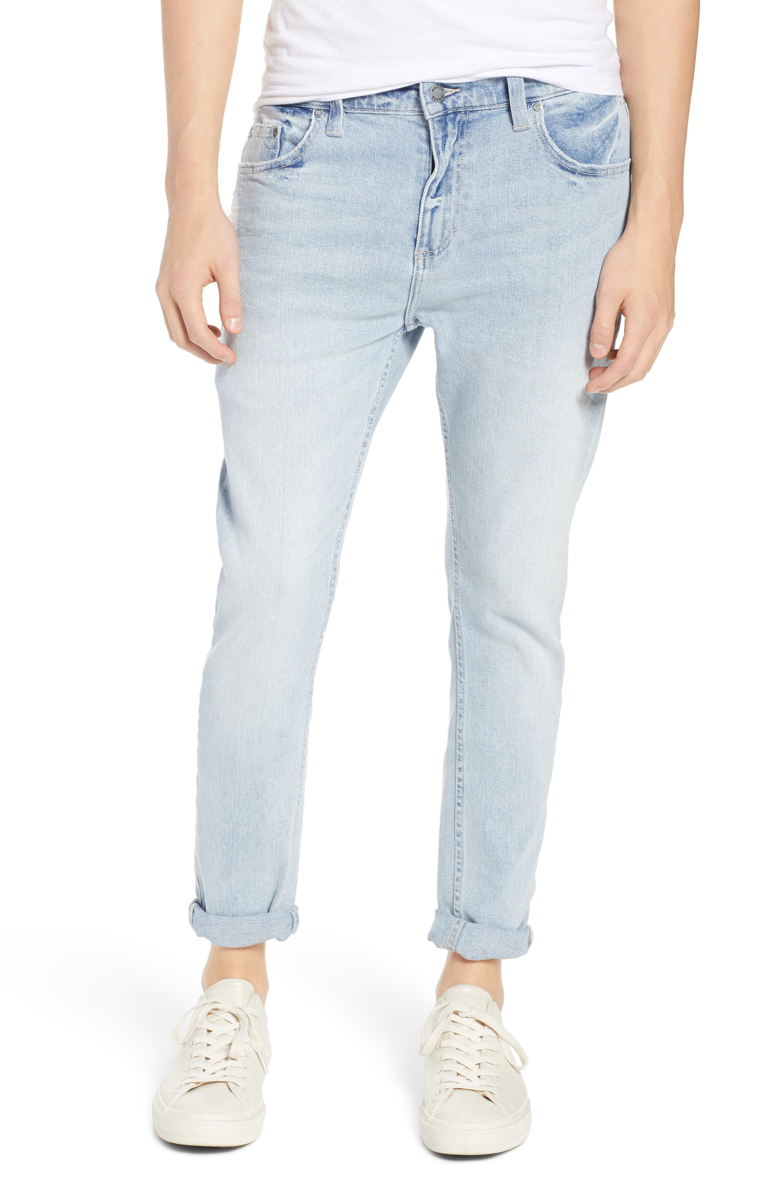 Rollies Slim Fit Jeans,                         Main,                         color, WATEGOS BLUE