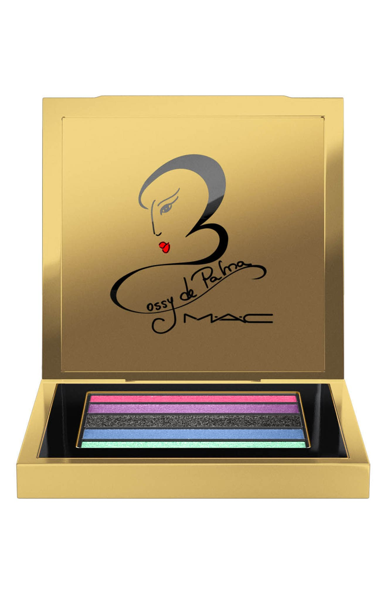 MAC Rossy de Palma Veluxe Pearlfusion Eyeshadow Palette,                             Alternate thumbnail 2, color,                             960