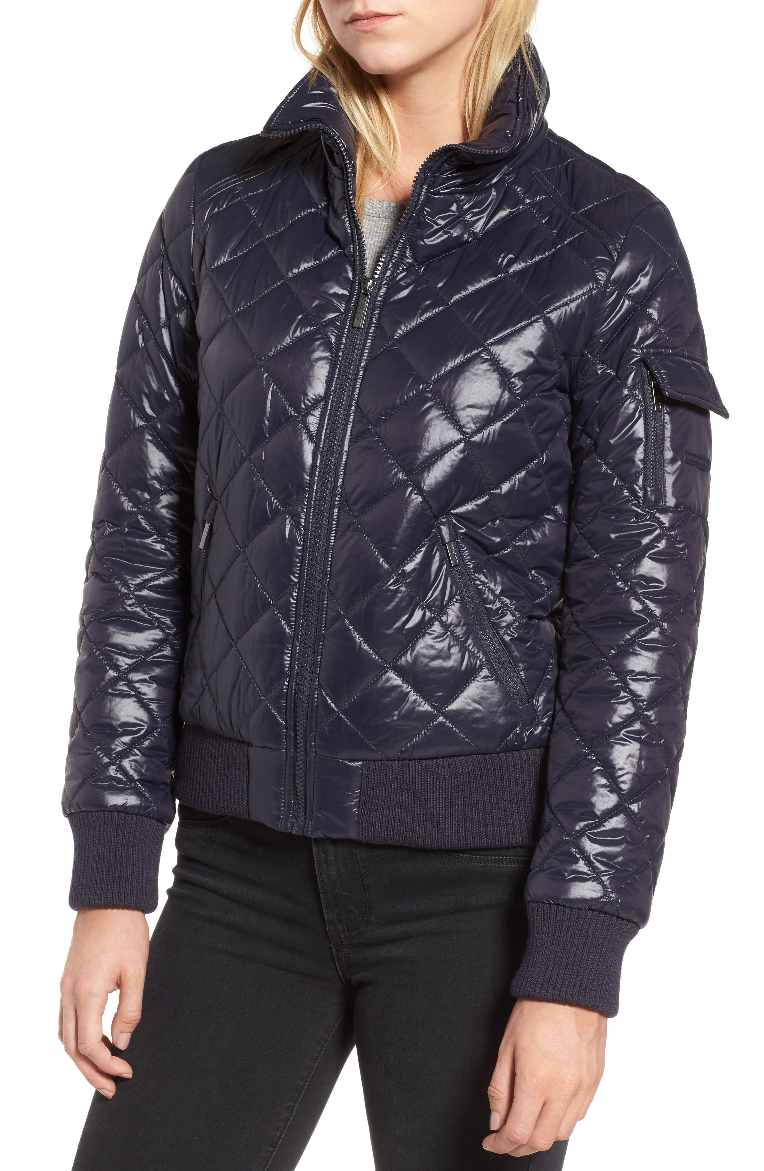 Quilted Bomber Jacket,                             Alternate thumbnail 17, color,