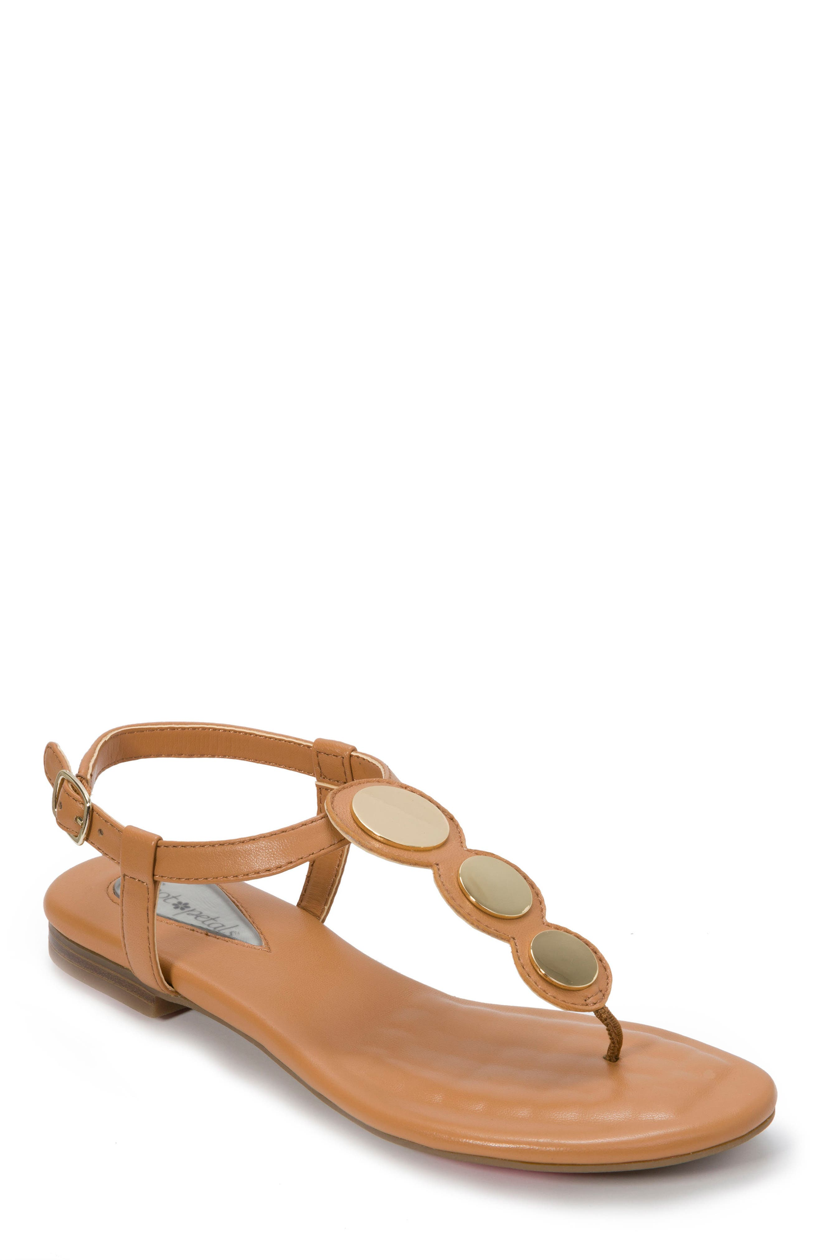 Foot Petals Ellie Sandal, Brown