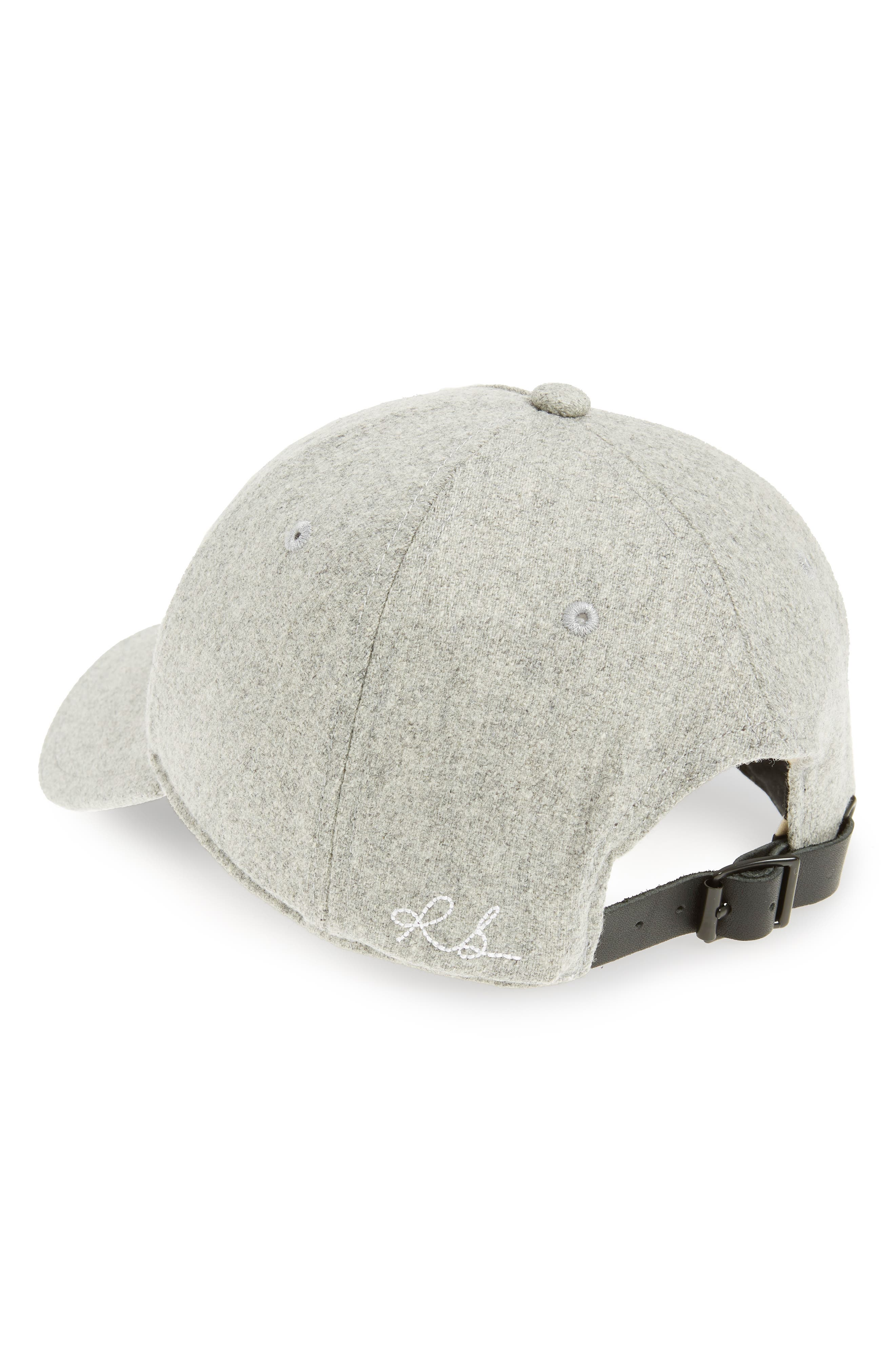 Marilyn Baseball Cap,                             Alternate thumbnail 2, color,                             LIGHT HEATHER GREY