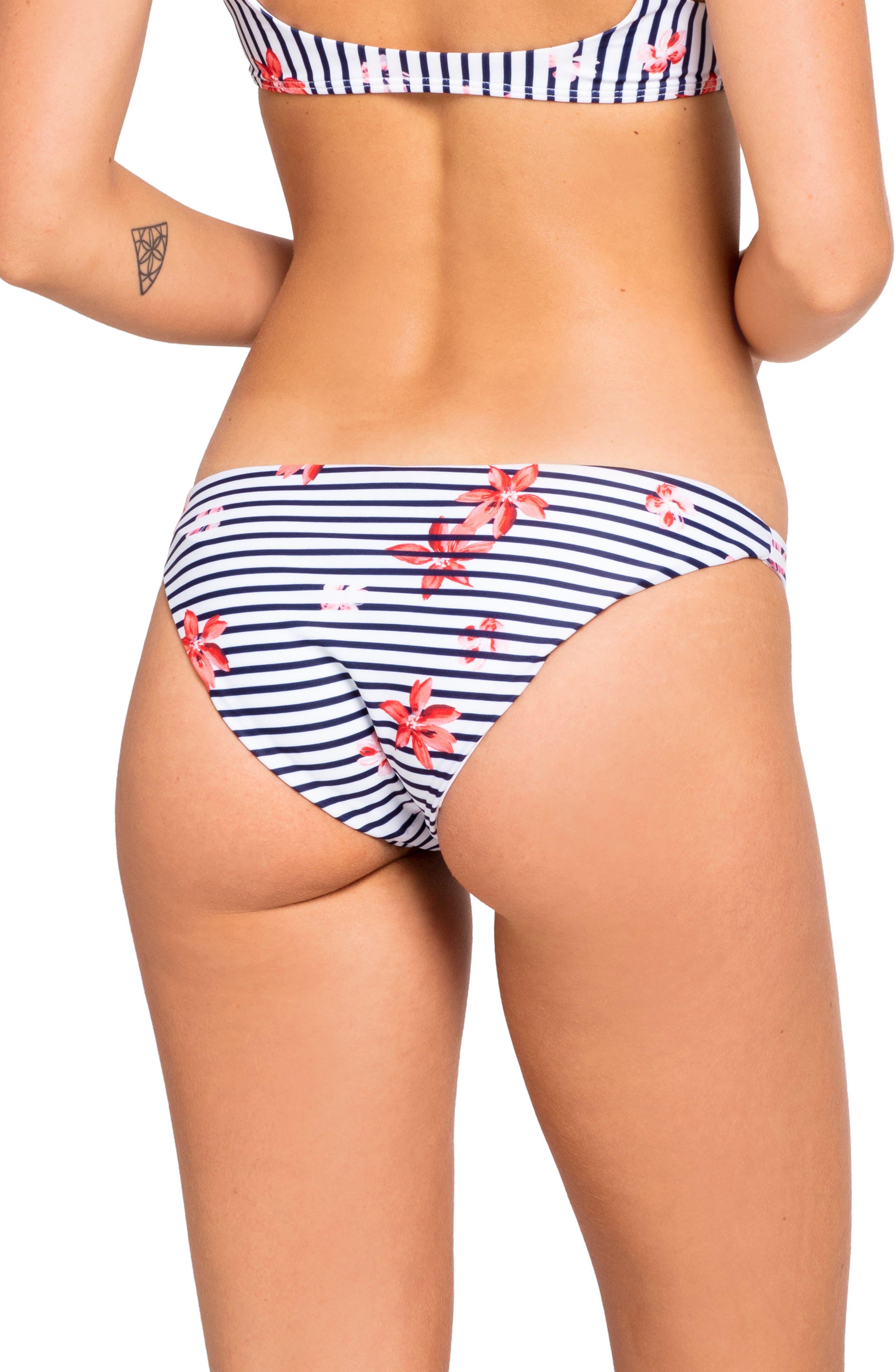 Camacho Hipster Bikini Bottoms,                             Alternate thumbnail 2, color,                             FLORAL BAY