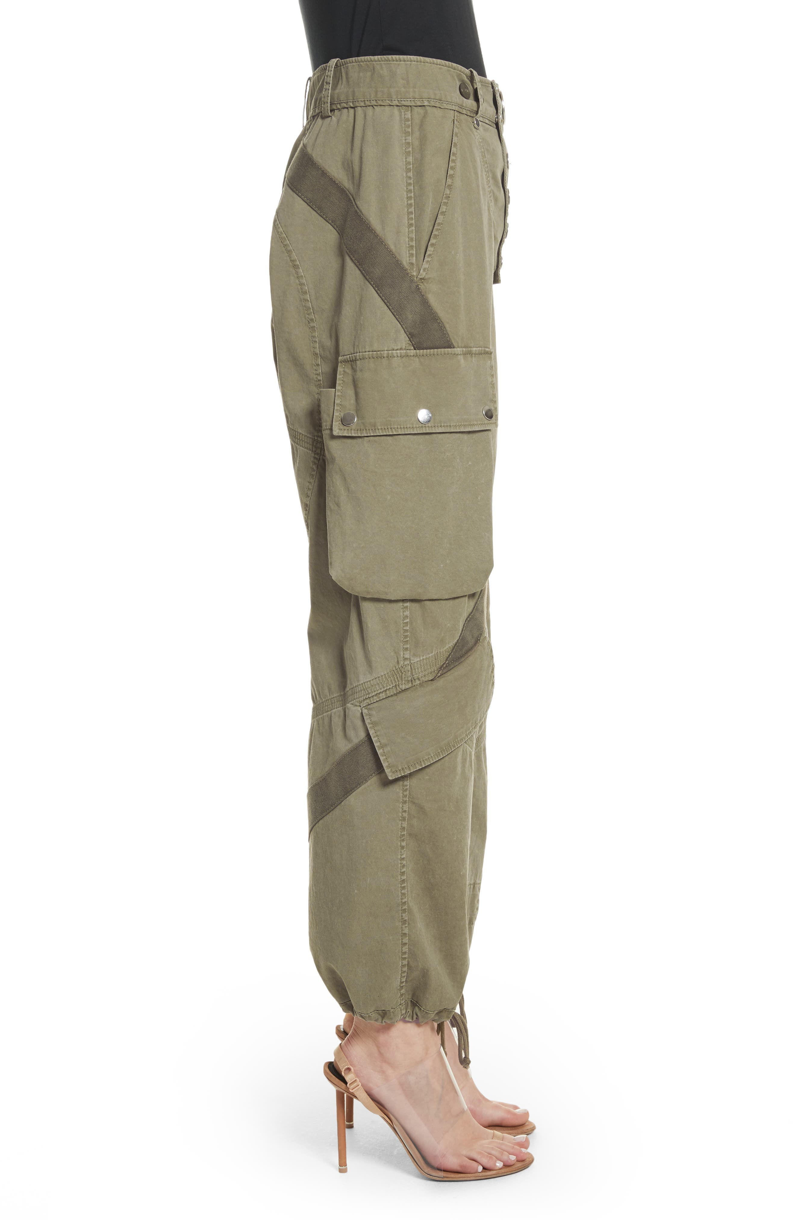 Tie Cuff Army Trousers,                             Alternate thumbnail 3, color,                             327