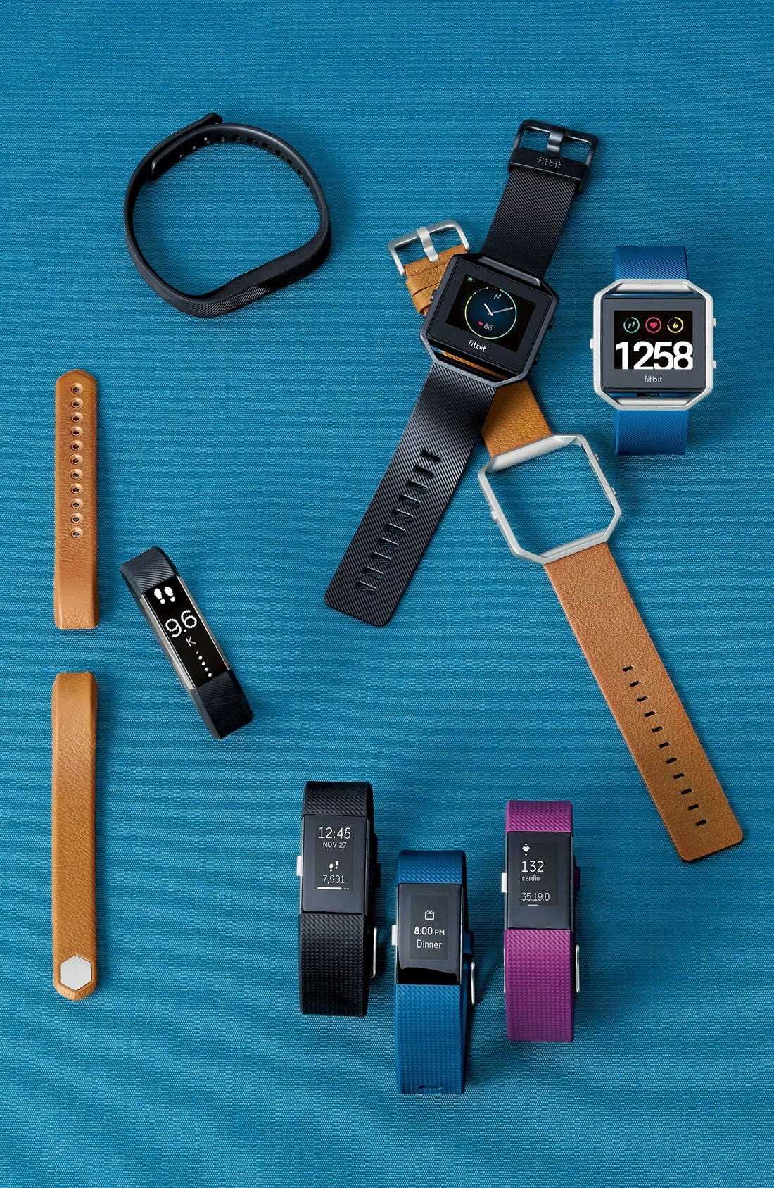 'Flex 2' Wireless Activity & Sleep Wristband,                             Alternate thumbnail 6, color,                             BLACK