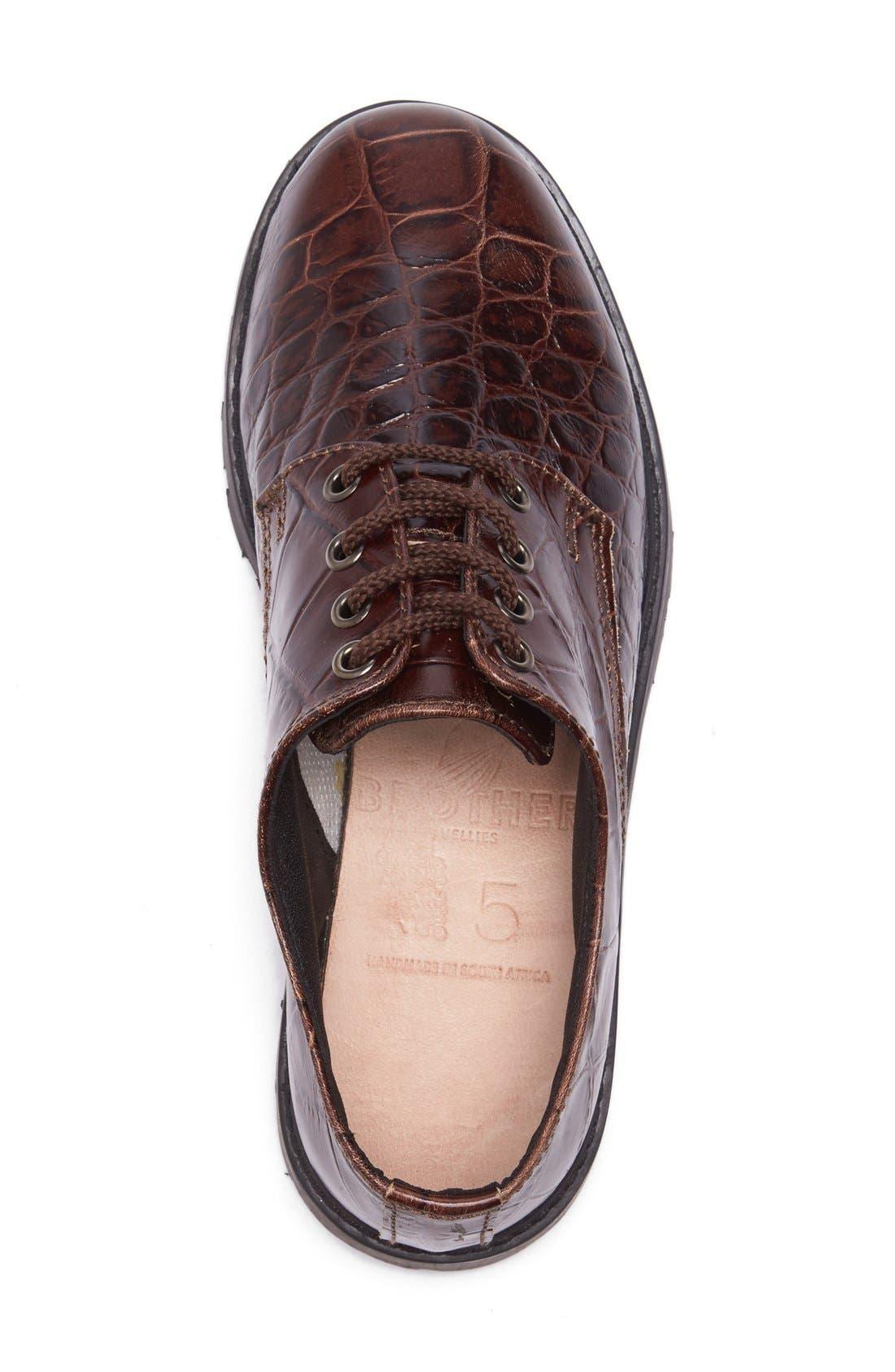 'School Shoe' Lace-Up Oxford,                             Alternate thumbnail 2, color,                             210