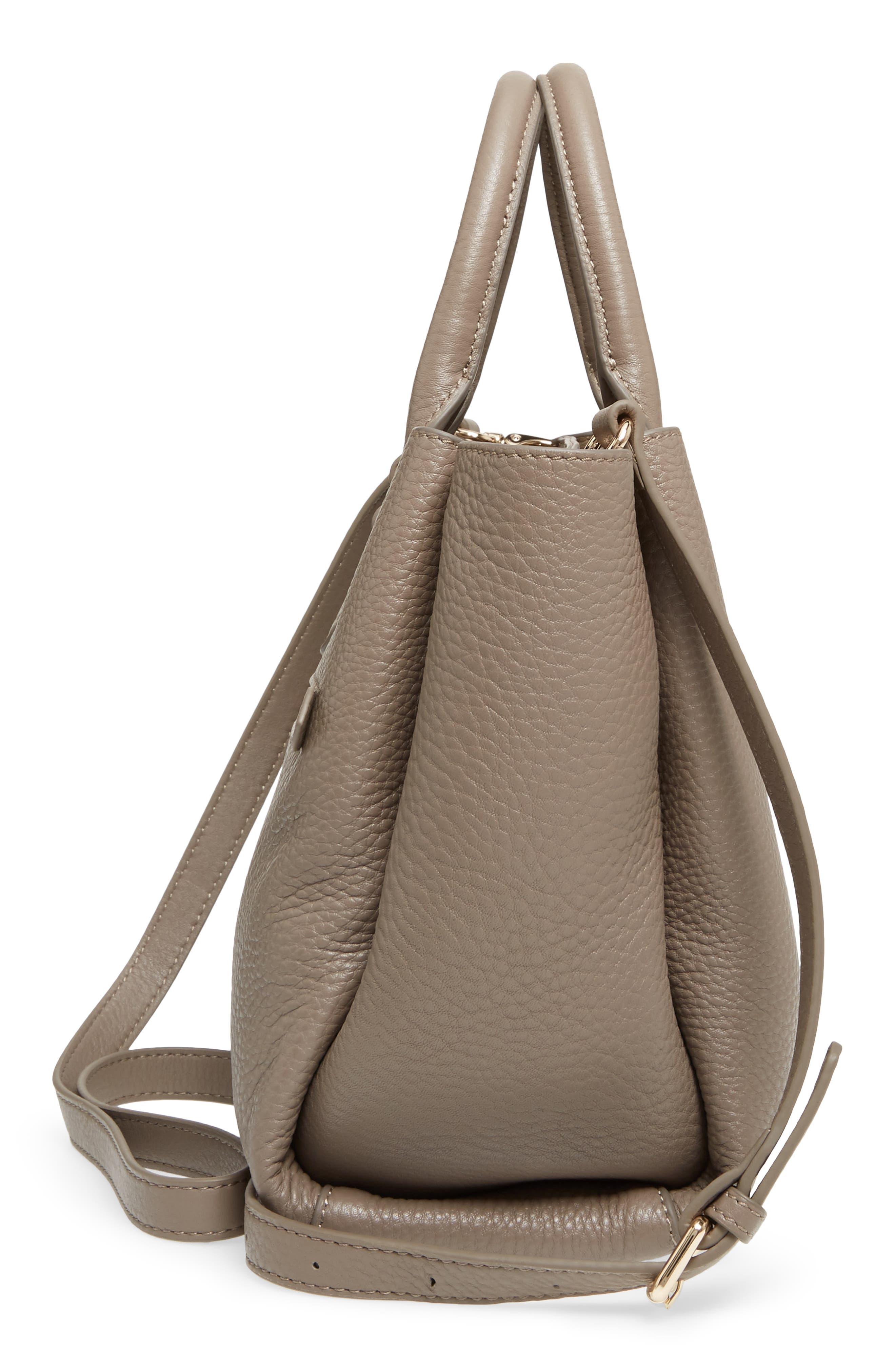 Céline Dion Small Adagio Leather Satchel,                             Alternate thumbnail 23, color,