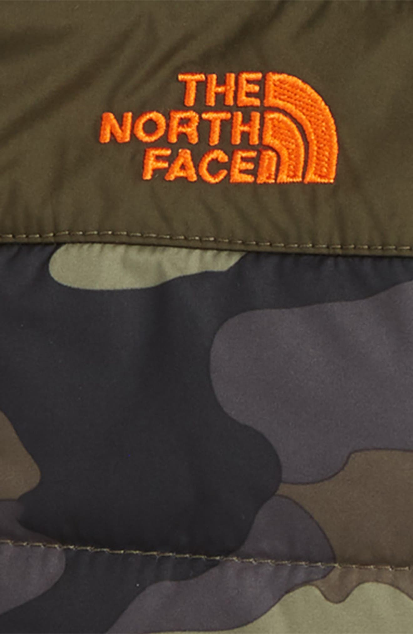 Mount Chimborazo Reversible Jacket,                             Alternate thumbnail 3, color,                             TAUPE/ GREEN CAMO PRINT