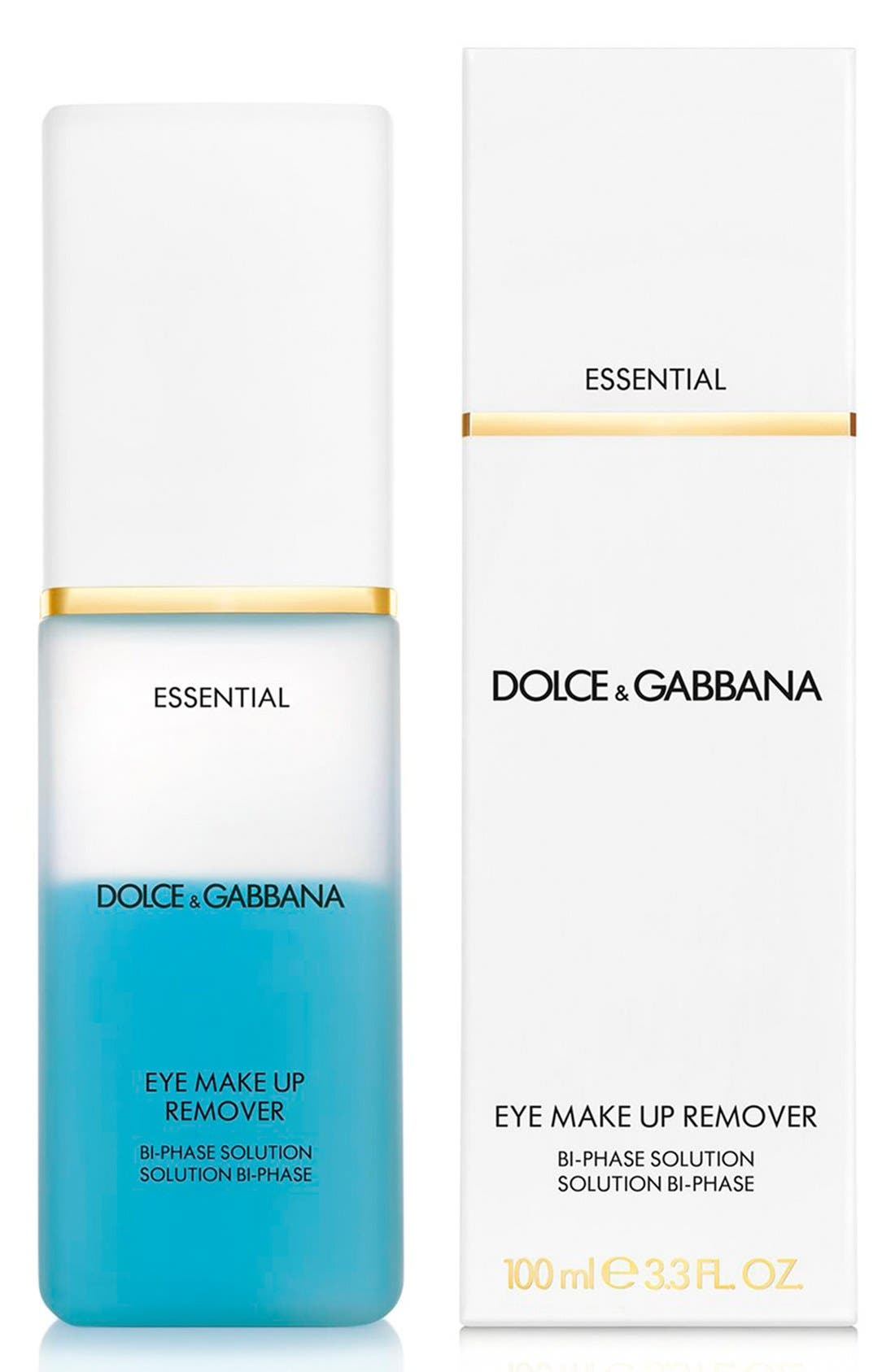 Dolce&Gabbana Beauty 'Essential' Eye Makeup Remover,                             Alternate thumbnail 2, color,                             000