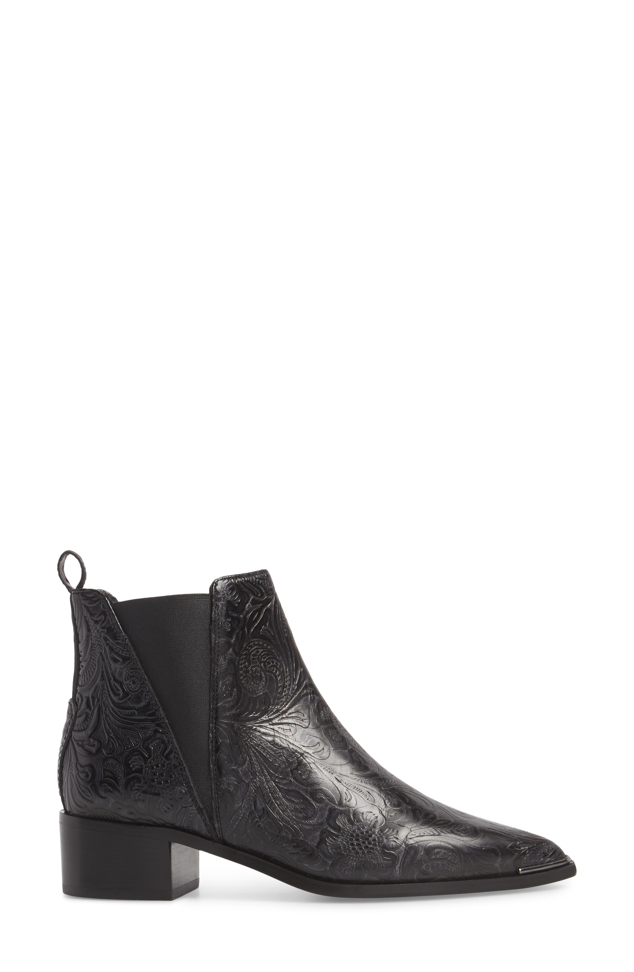 Jensen Pointy Toe Bootie,                             Alternate thumbnail 3, color,                             006