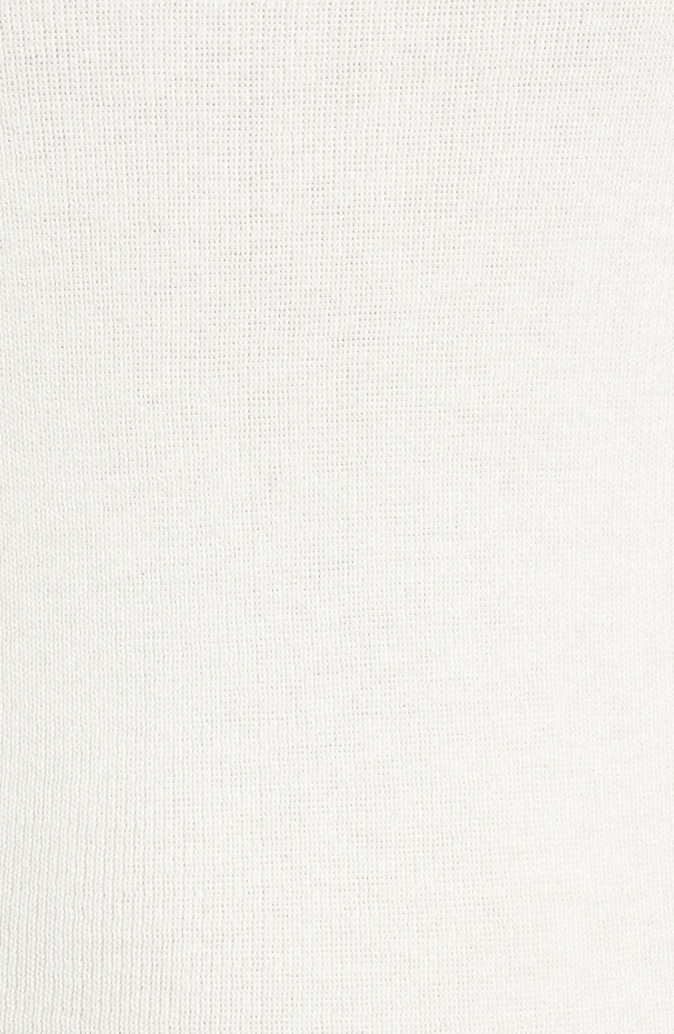 Bell Sleeve Rib Sweater,                             Alternate thumbnail 19, color,