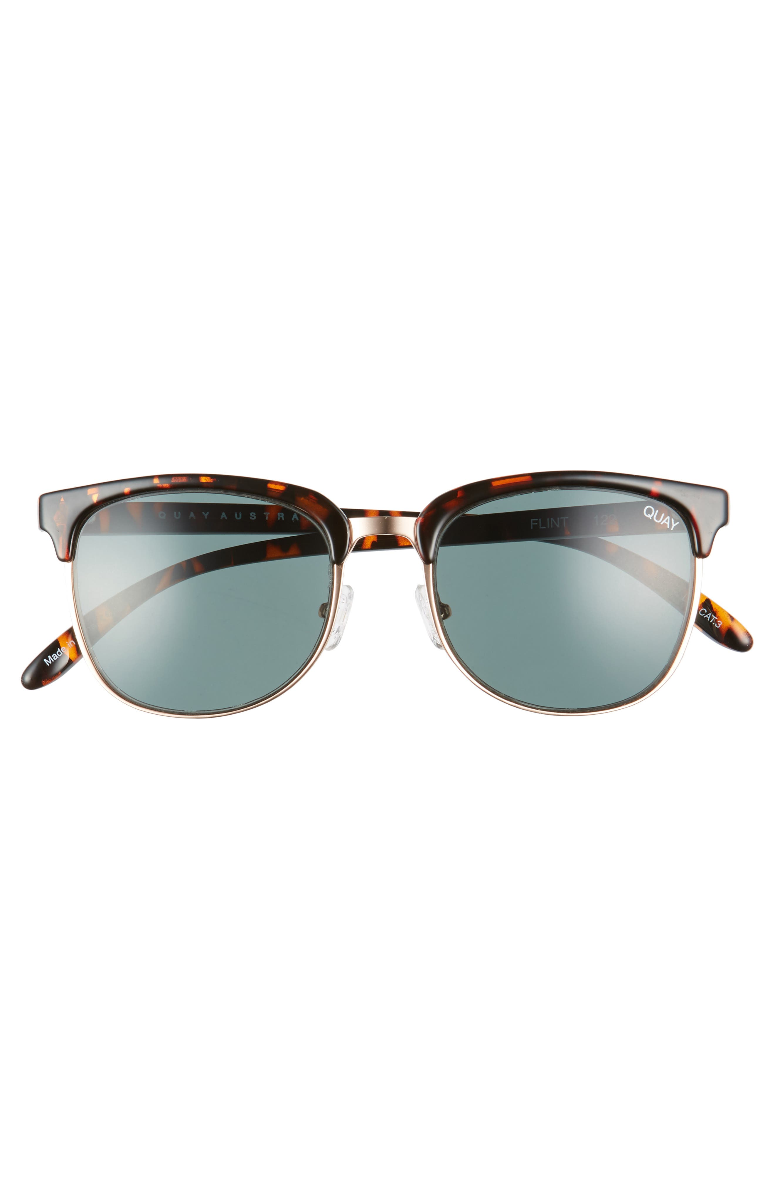 Flint 52mm Sunglasses,                             Alternate thumbnail 3, color,                             200