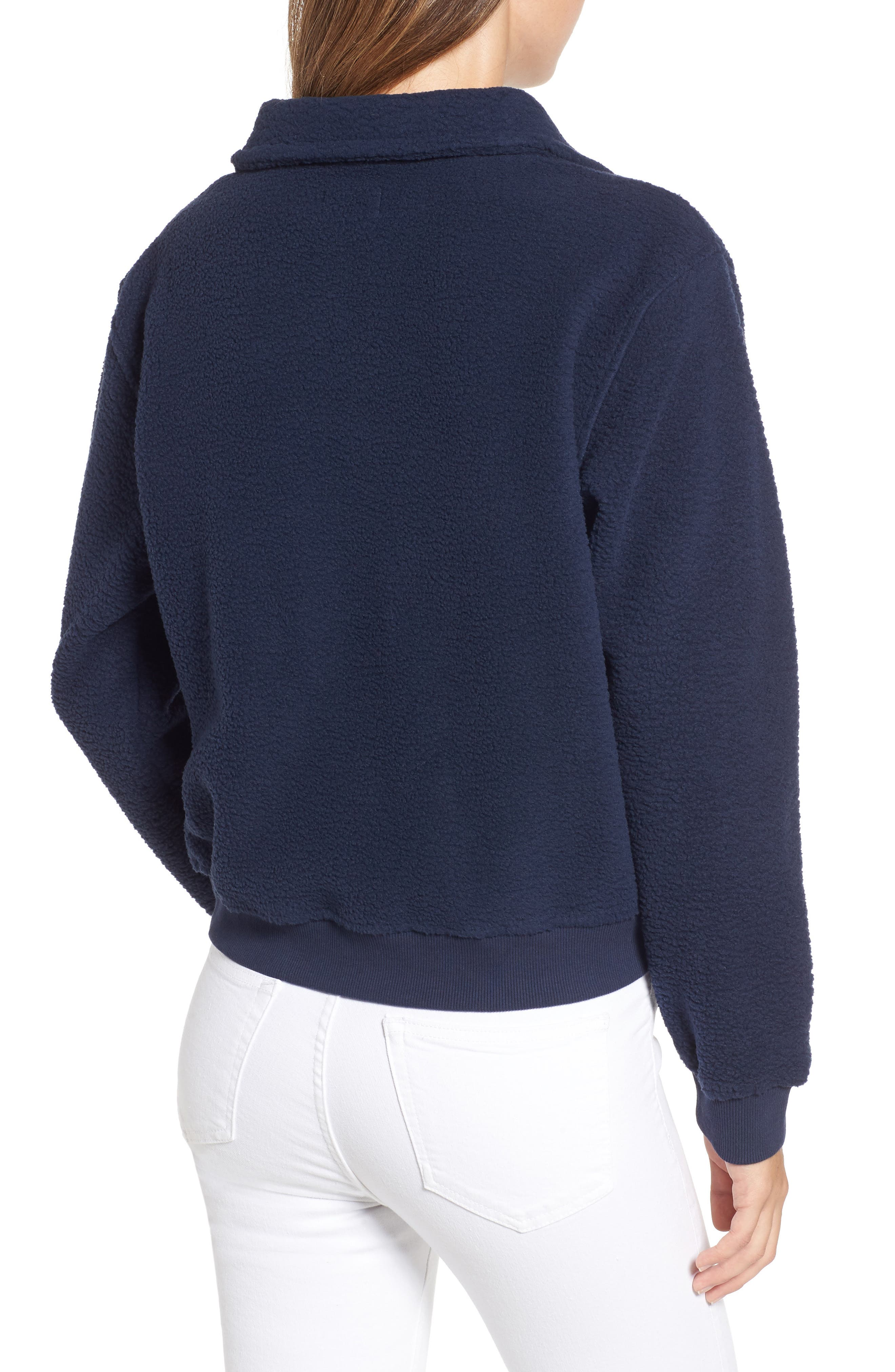 TJW Classics Polar Fleece Sweatshirt,                             Alternate thumbnail 2, color,                             002