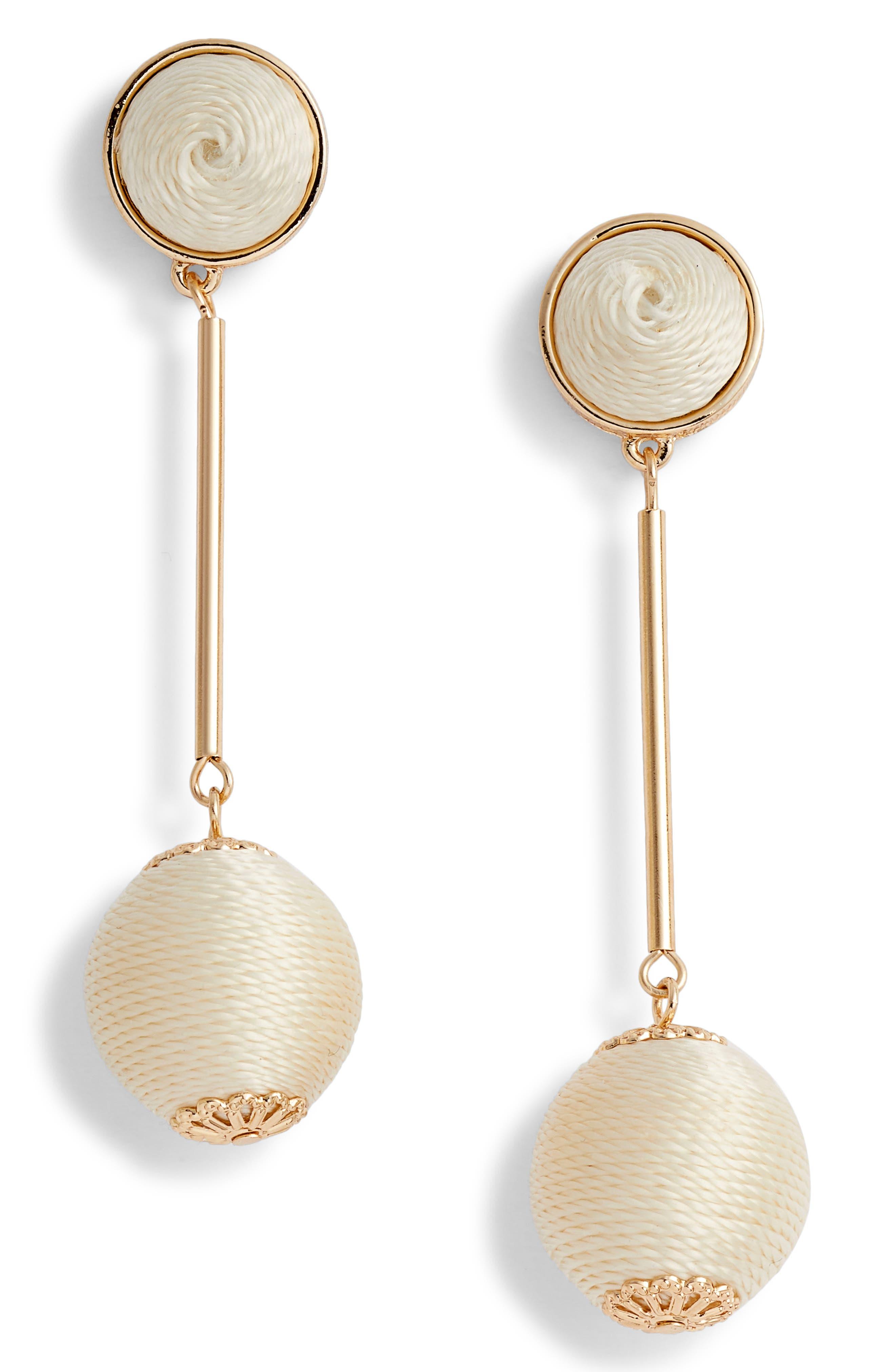 Mod Ball Drop Earrings,                             Main thumbnail 1, color,                             100
