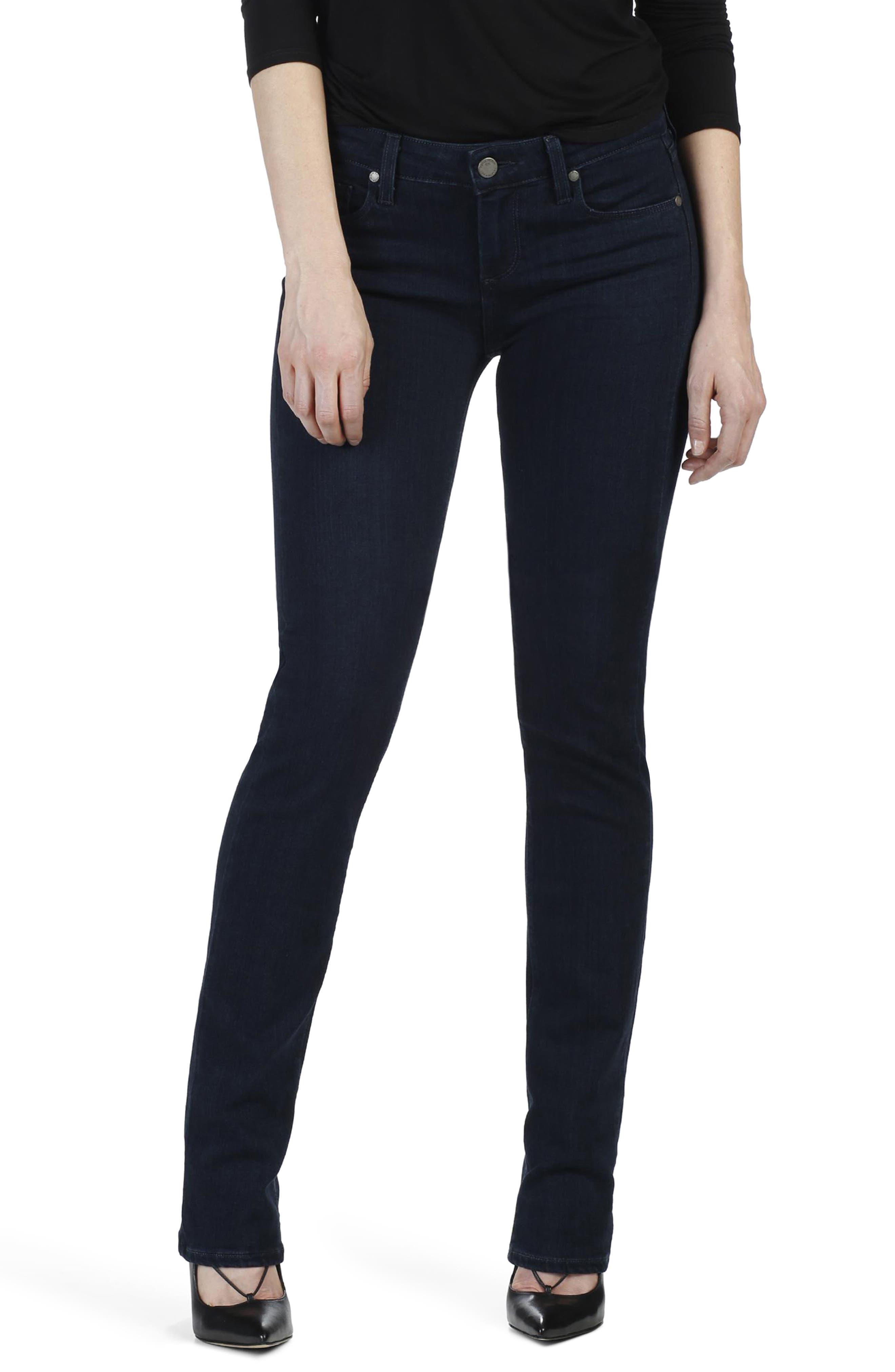 Transcend - Skyline Straight Leg Jeans,                         Main,                         color, 400