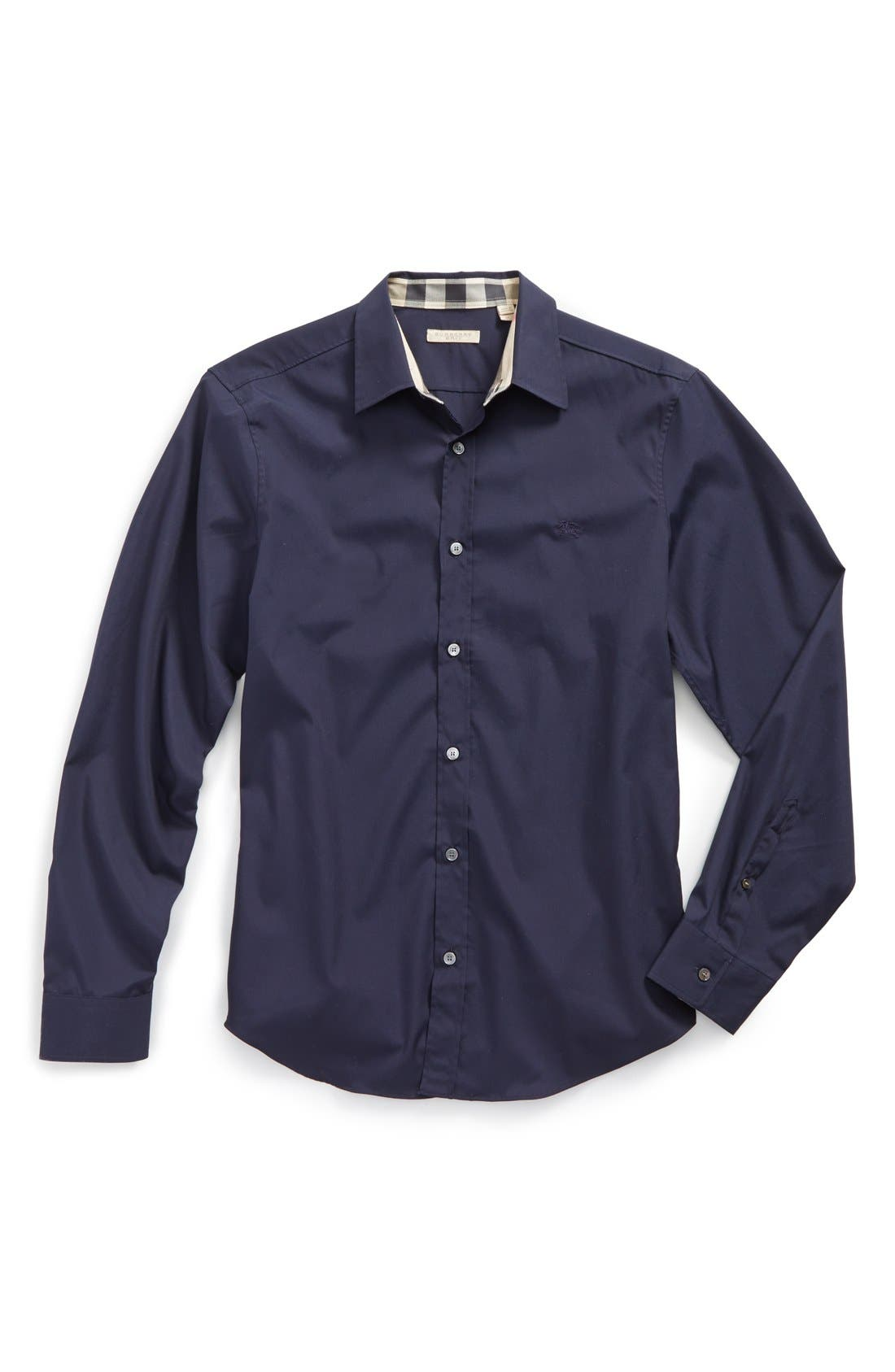 Cambridge Aboyd Sport Shirt,                             Alternate thumbnail 110, color,