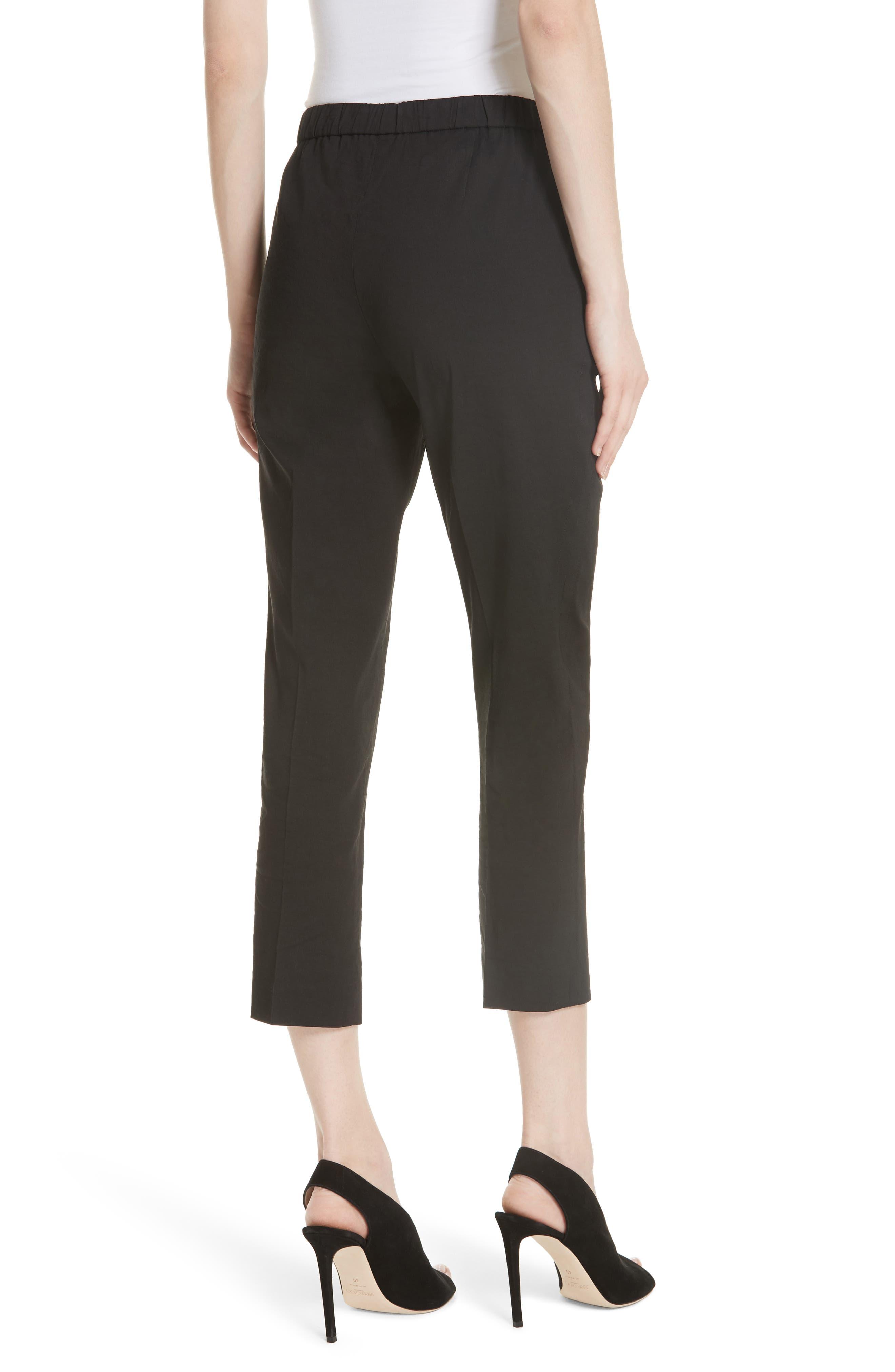 Pull-On Linen Blend Pants,                             Alternate thumbnail 4, color,