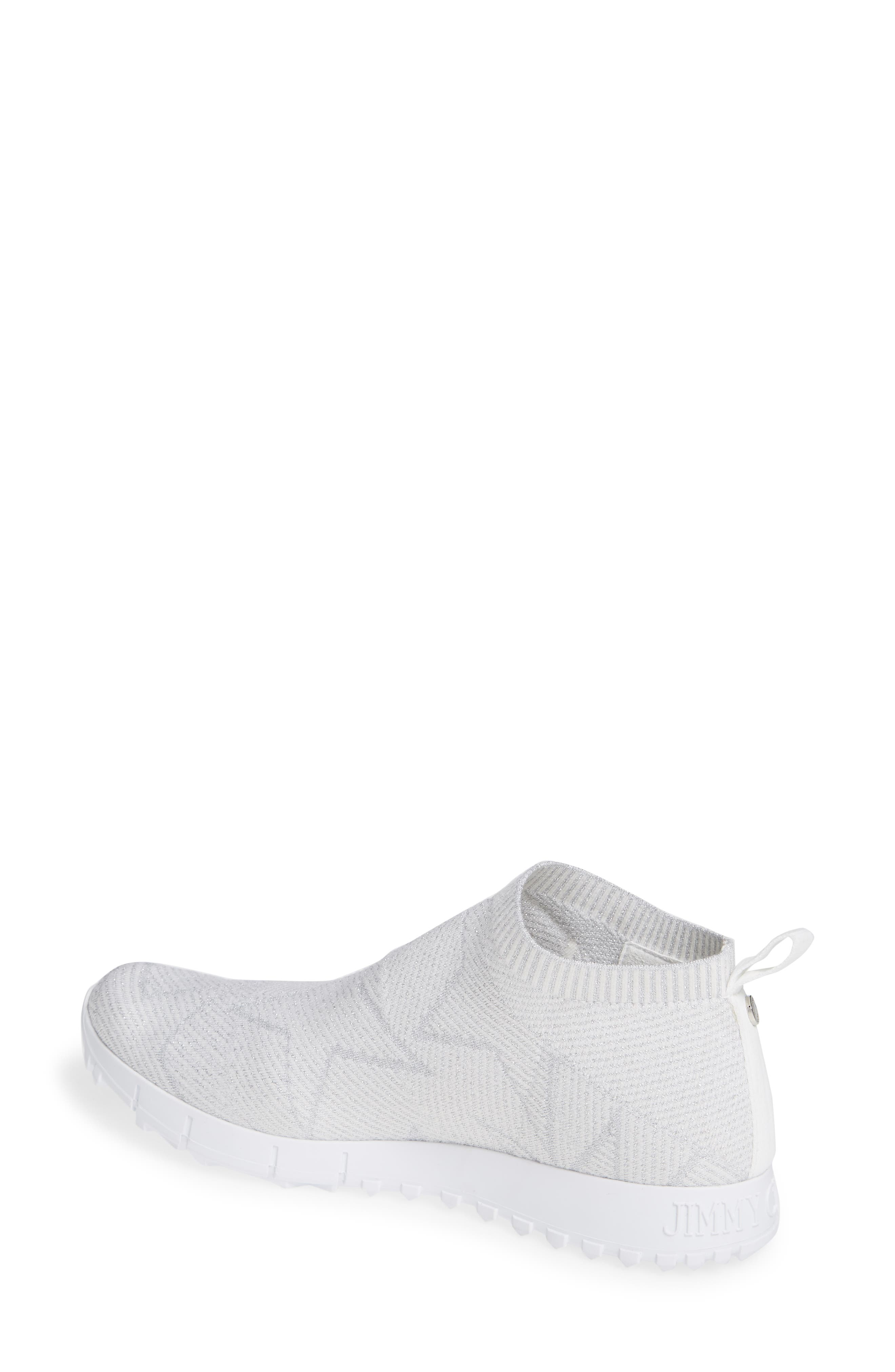 Norway Star Slip-On Sneaker,                             Alternate thumbnail 2, color,                             WHITE