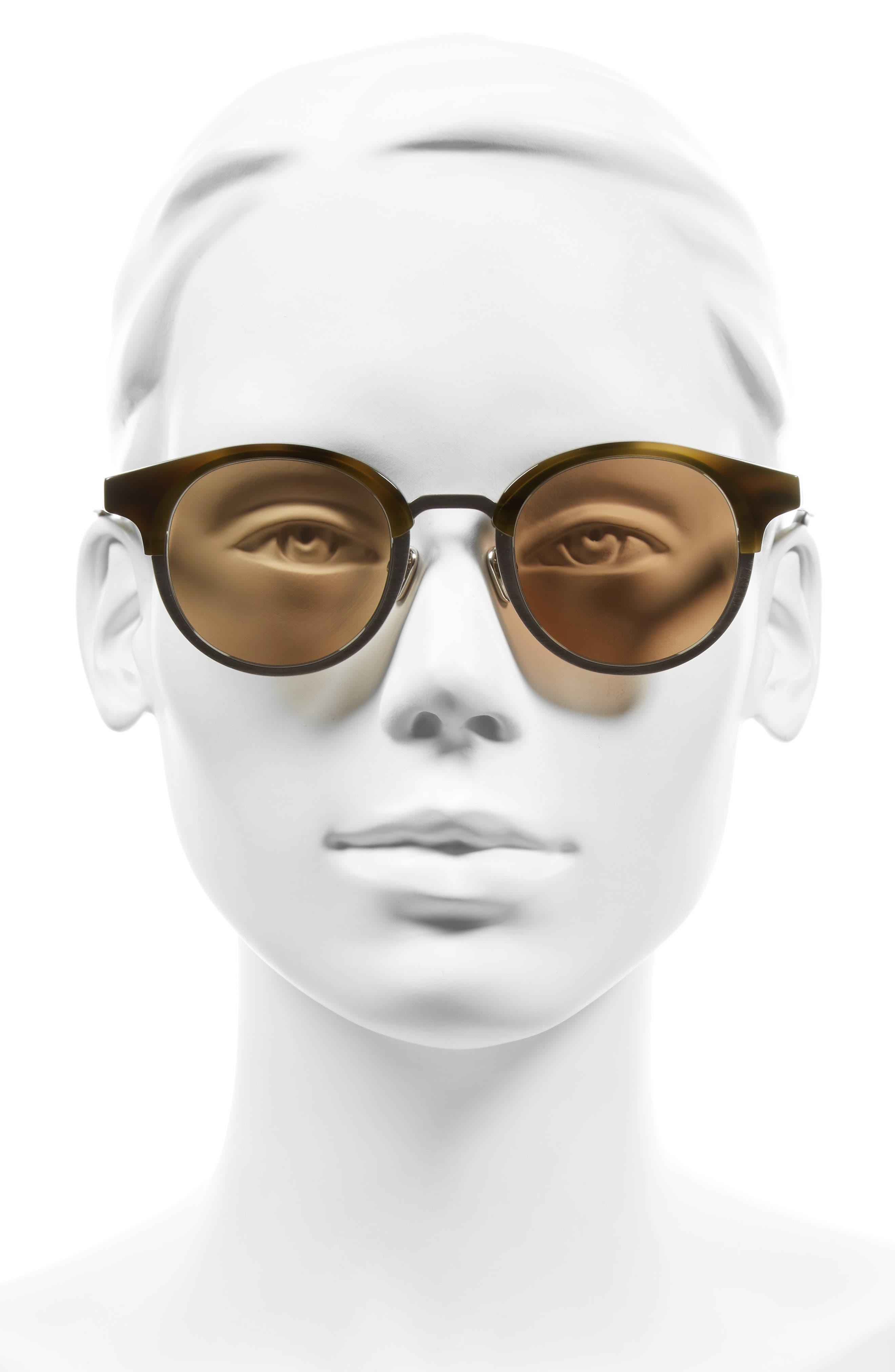 Rumack 46mm Polarized Sunglasses,                             Alternate thumbnail 2, color,                             OLIVE