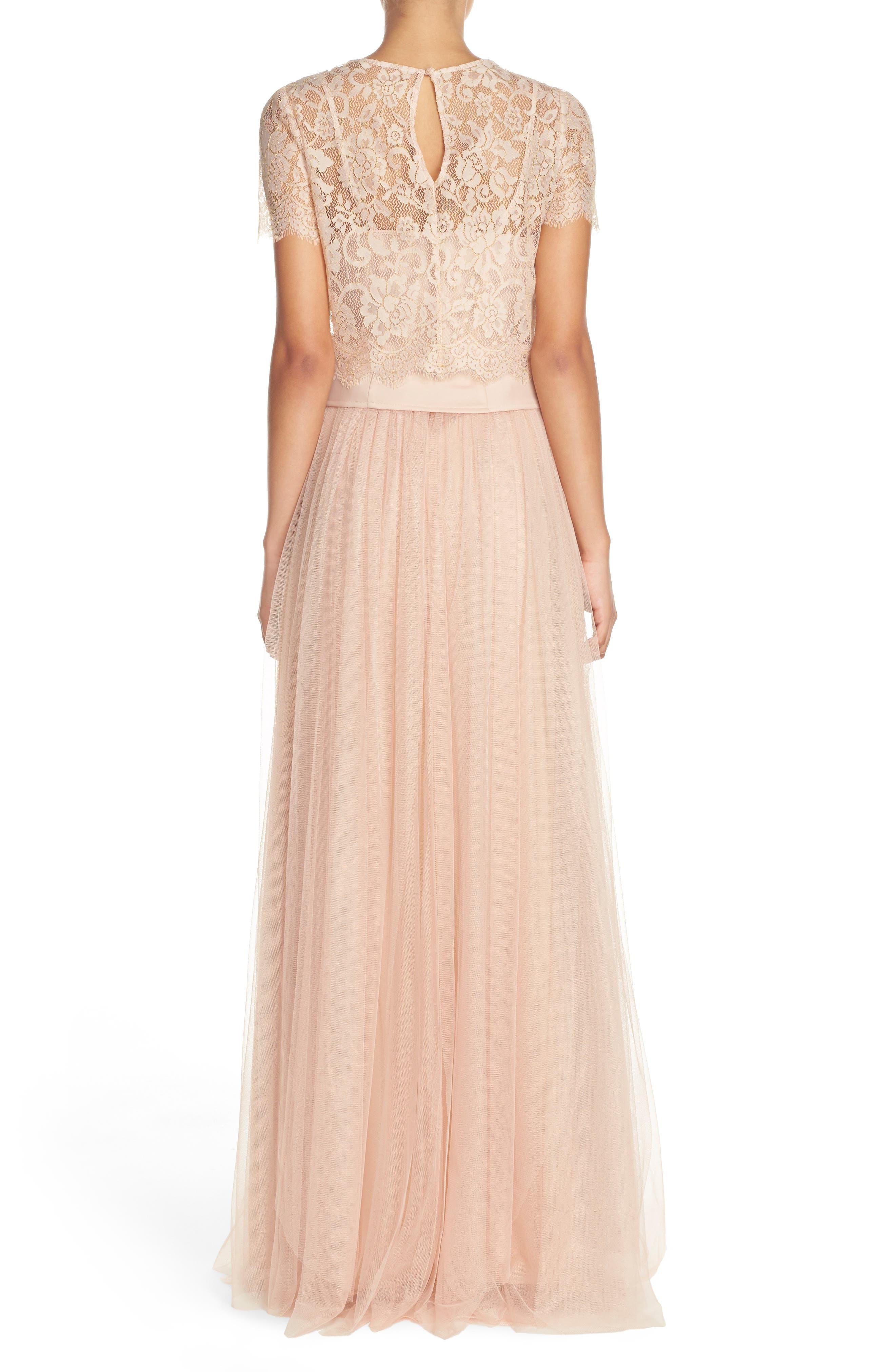 Arabella Tulle Ballgown Skirt,                             Alternate thumbnail 6, color,                             685