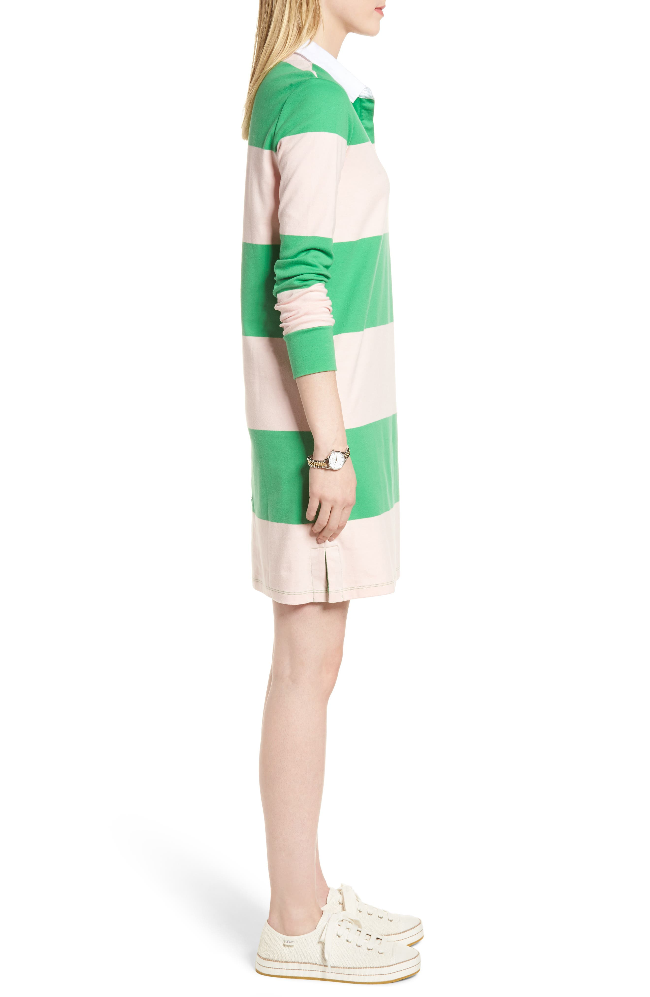 Cotton Rugby Dress,                             Alternate thumbnail 10, color,