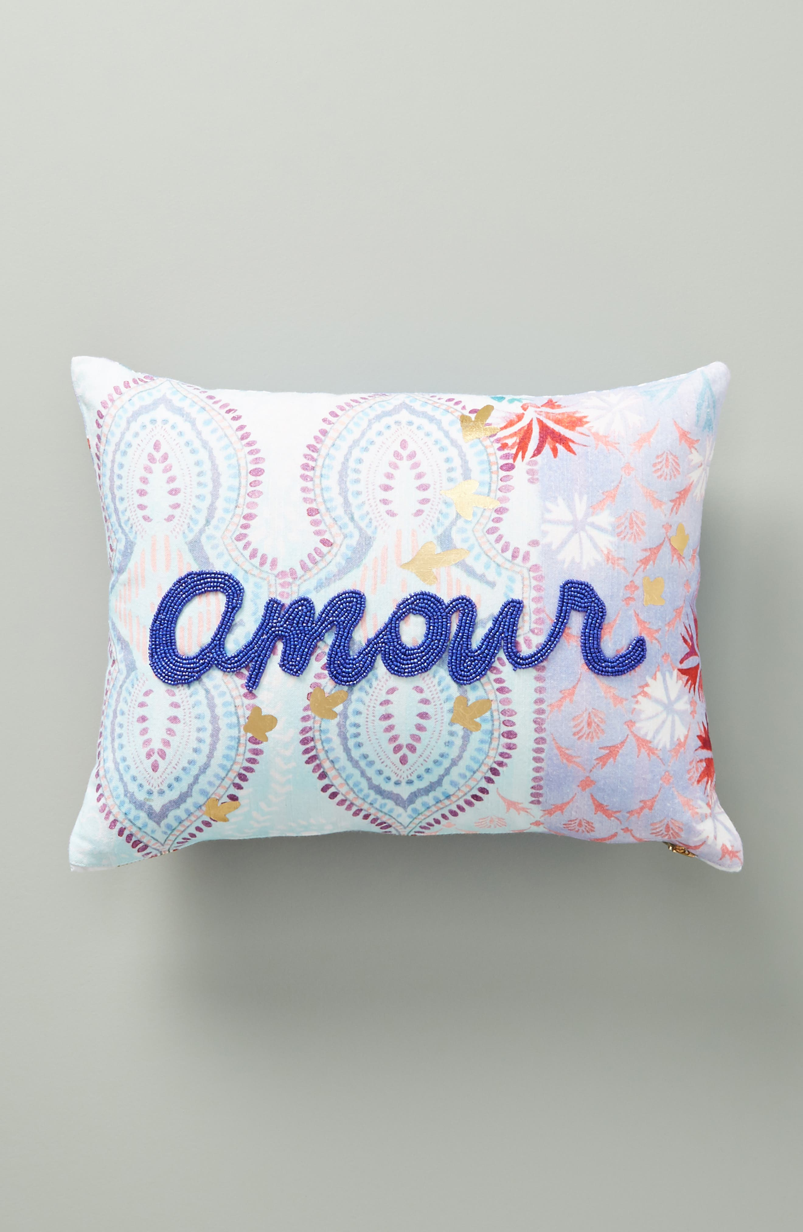 Piper Accent Pillow,                             Main thumbnail 1, color,                             PERIWINKLE