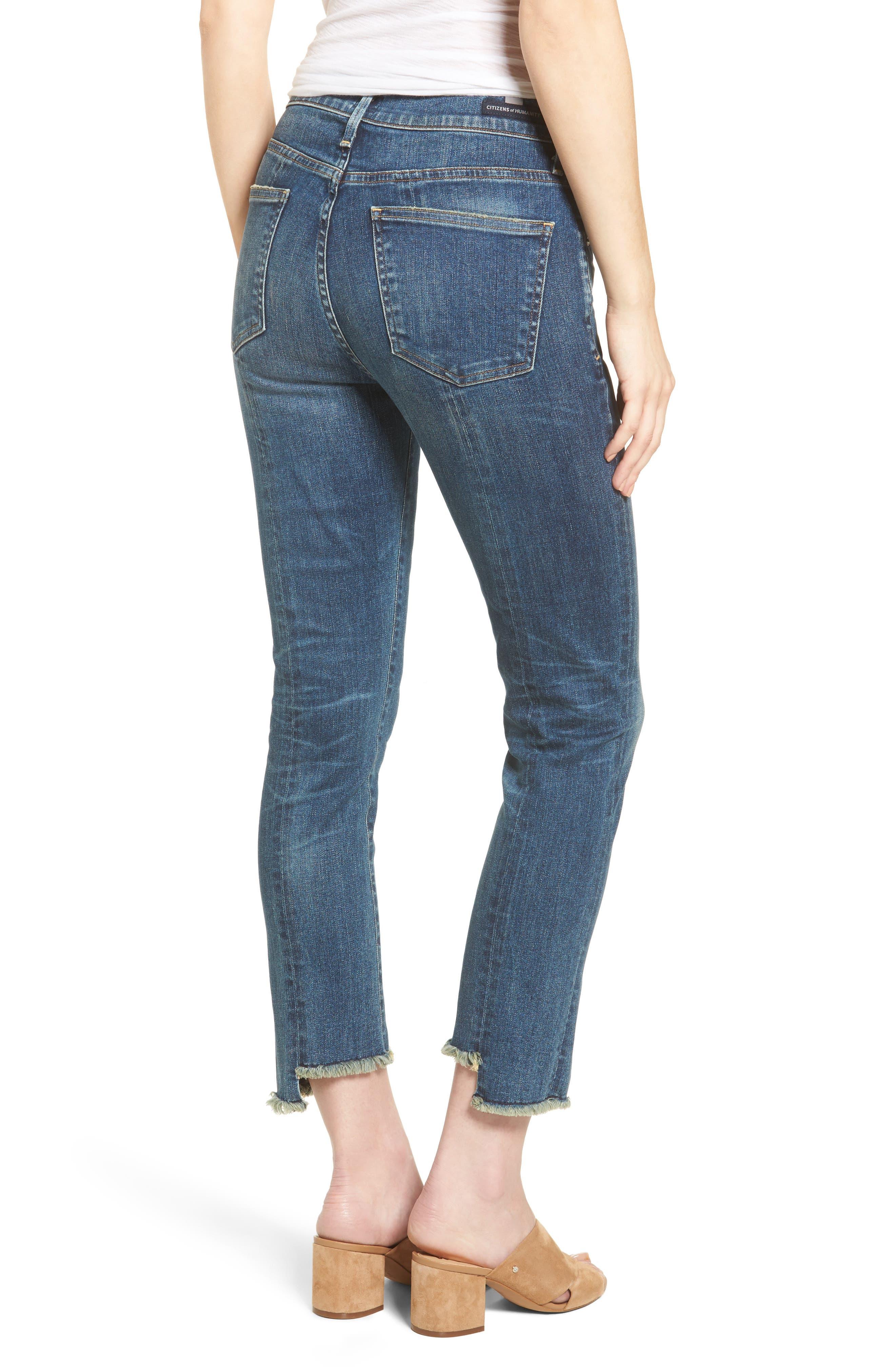 Amari Step Hem Ankle Jeans,                             Alternate thumbnail 2, color,                             429