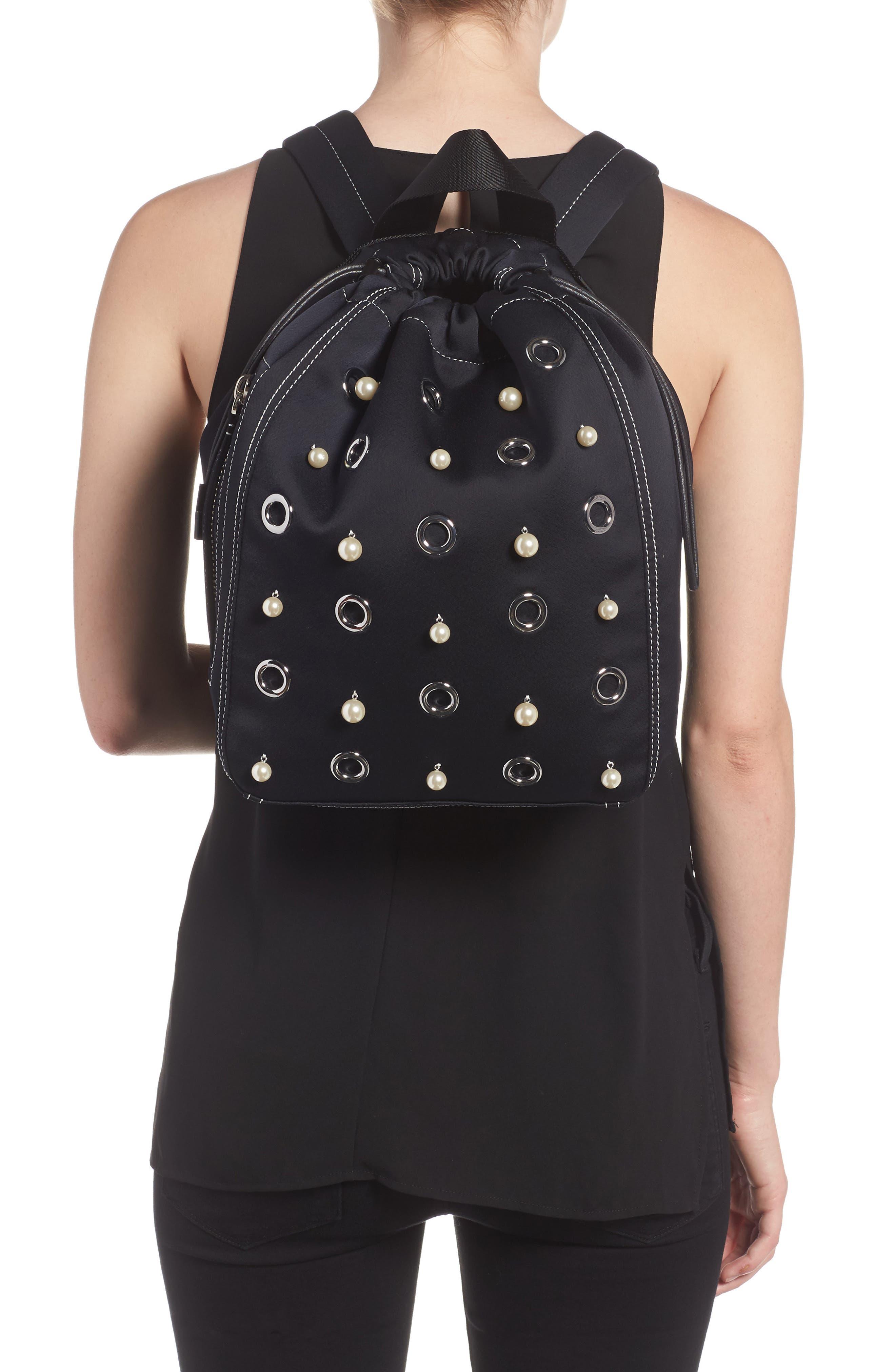 Phillip Lim 3.1 Medium Go-Go Embellished Backpack,                             Alternate thumbnail 4, color,