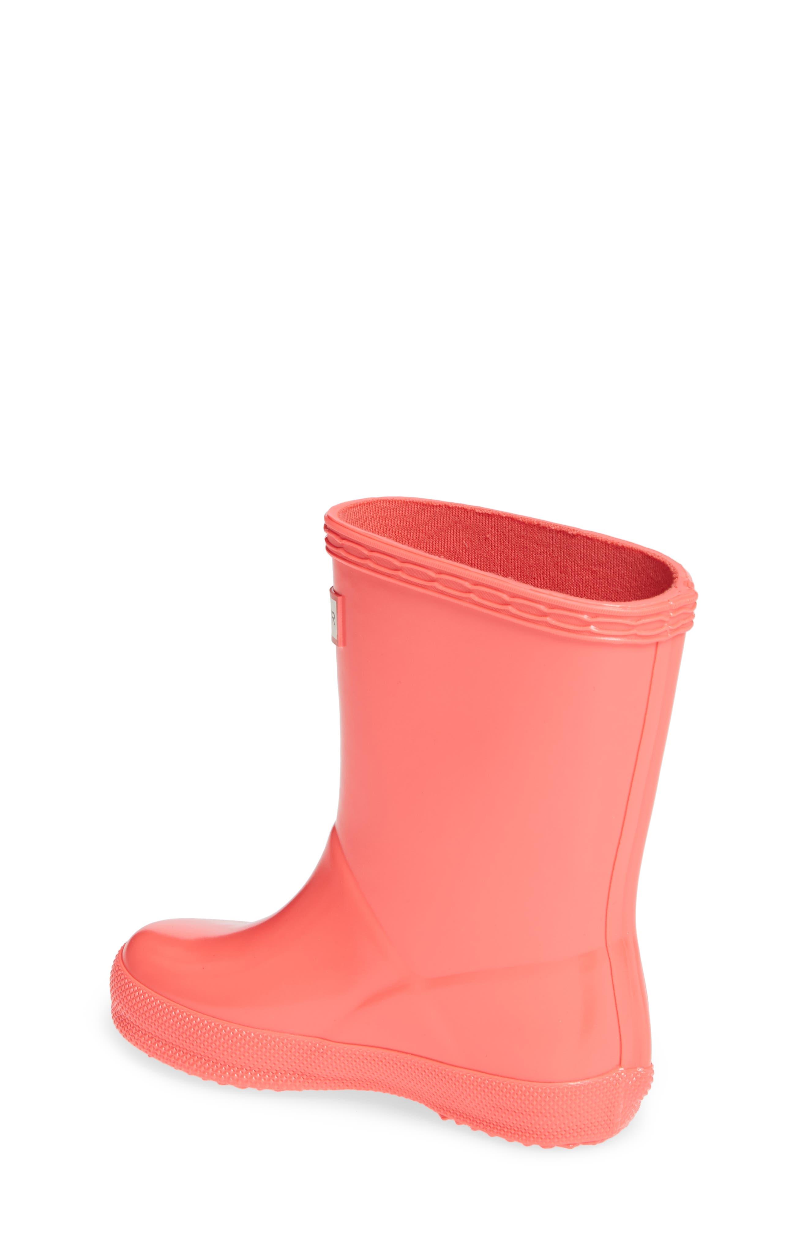 'First Gloss' Rain Boot,                             Alternate thumbnail 2, color,                             HYPER PINK