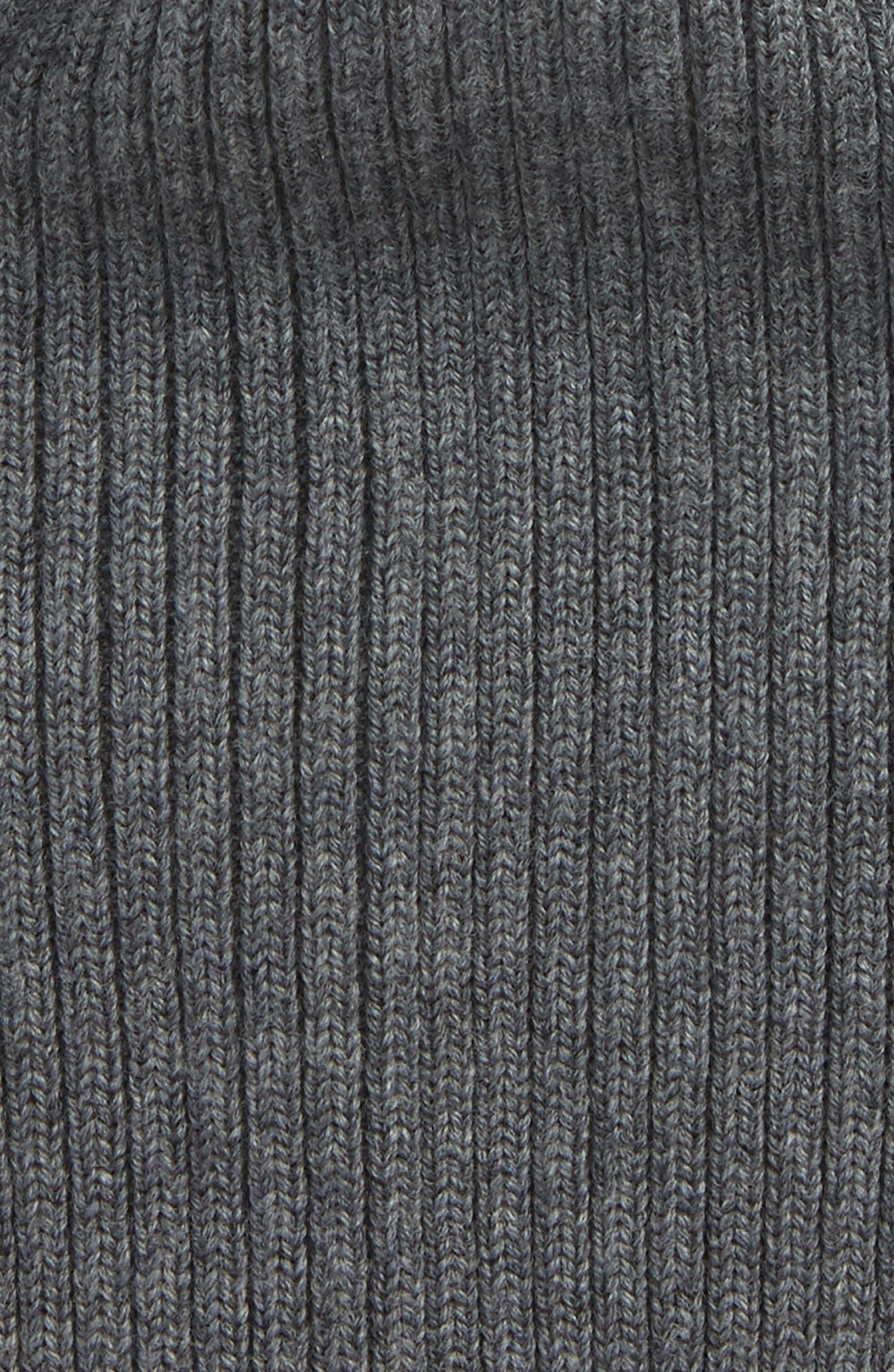 Rib Knit Wool Beanie,                             Alternate thumbnail 2, color,                             032