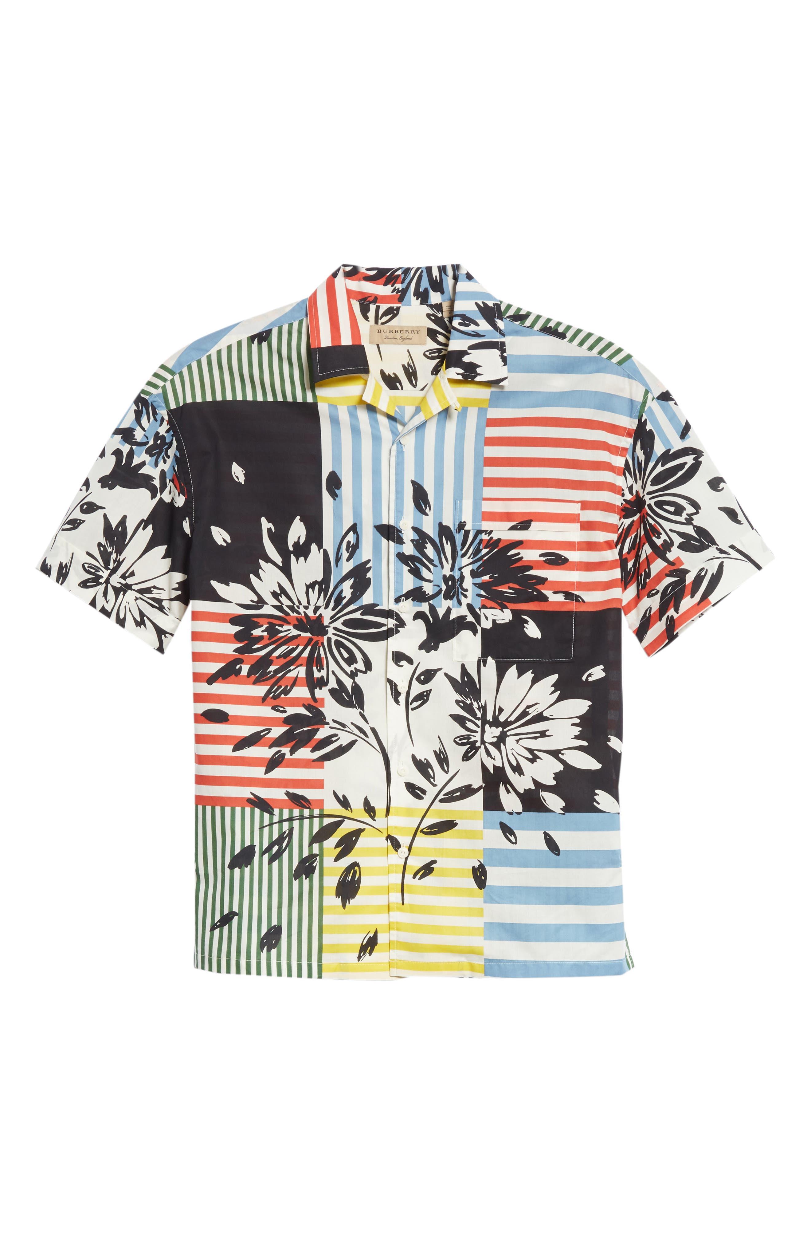 Harley Print Shirt,                             Alternate thumbnail 6, color,                             409