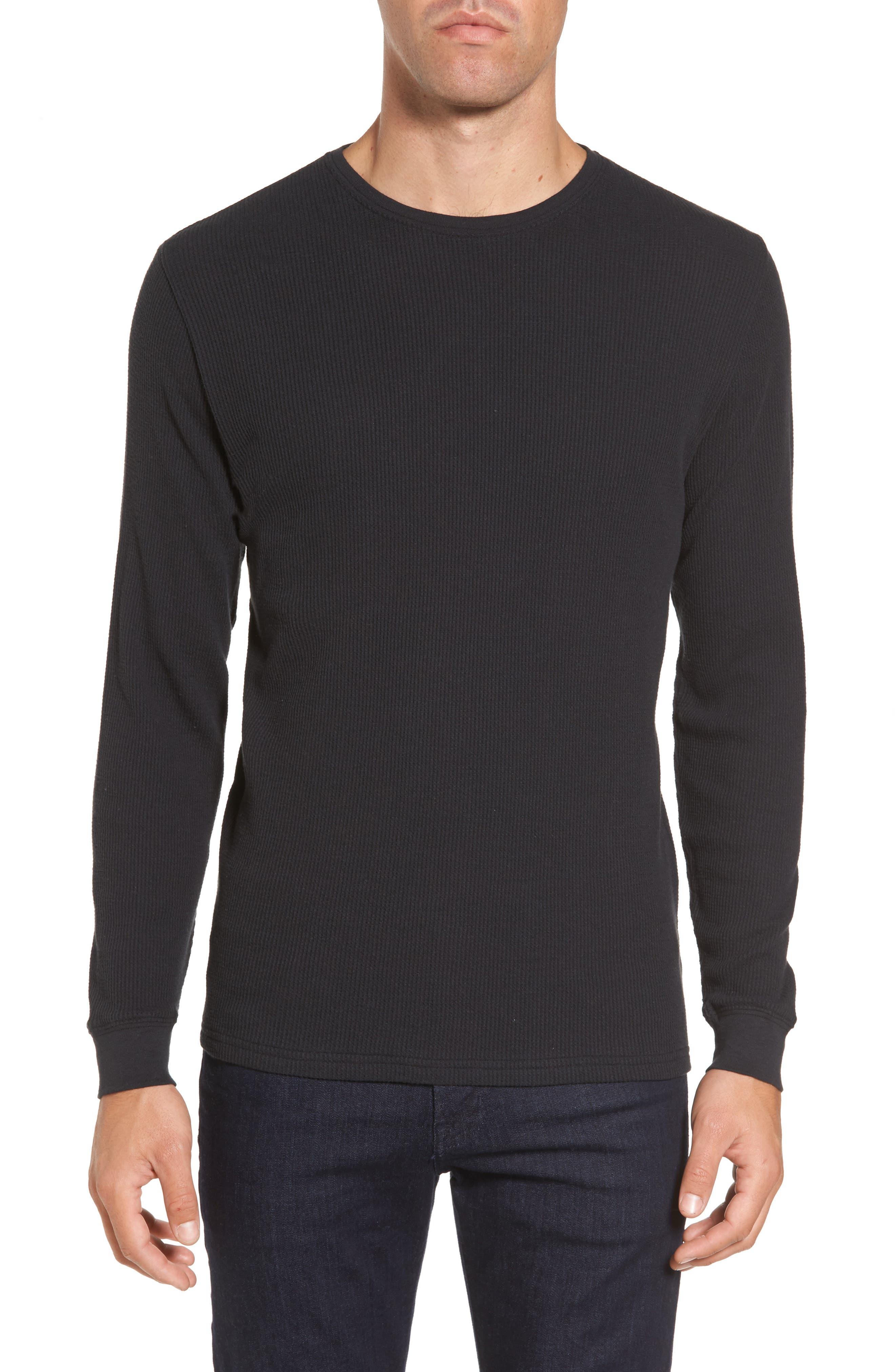 Vista Waffle Knit T-Shirt,                         Main,                         color, 001