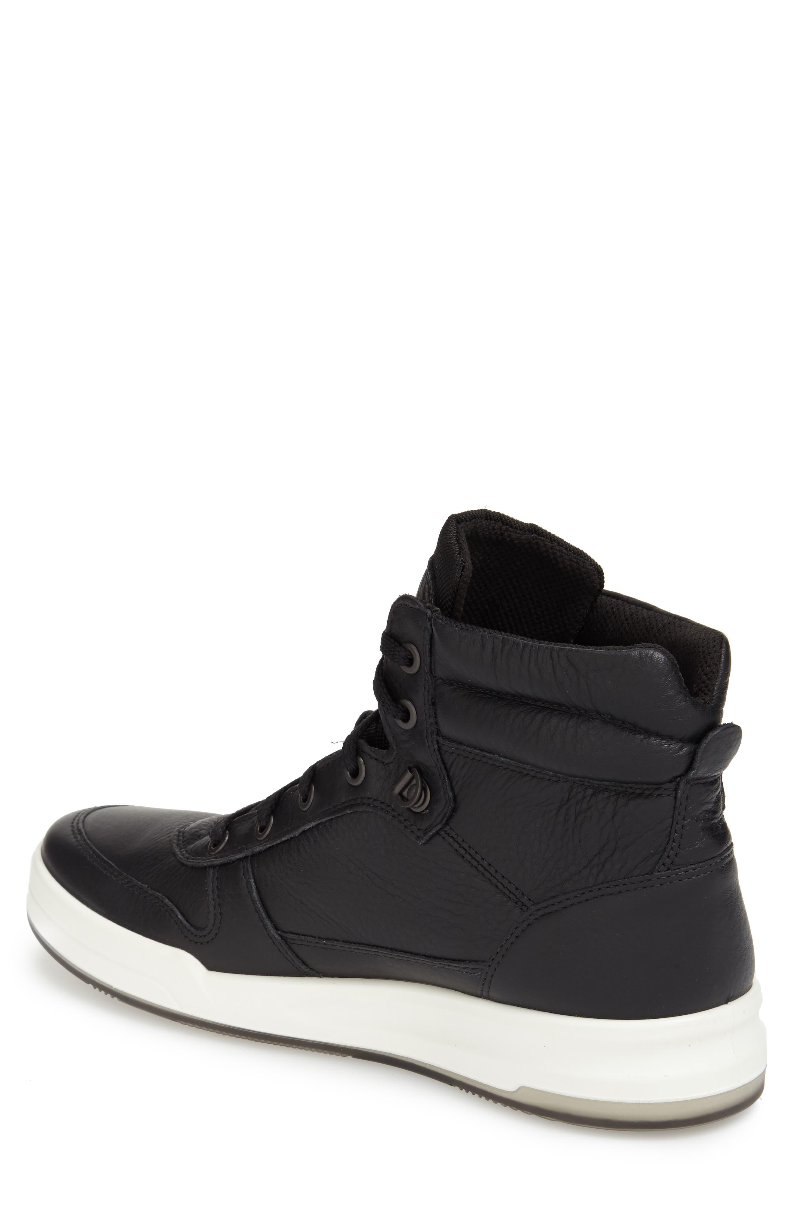 'Jack' High Top Sneaker,                             Alternate thumbnail 3, color,                             001