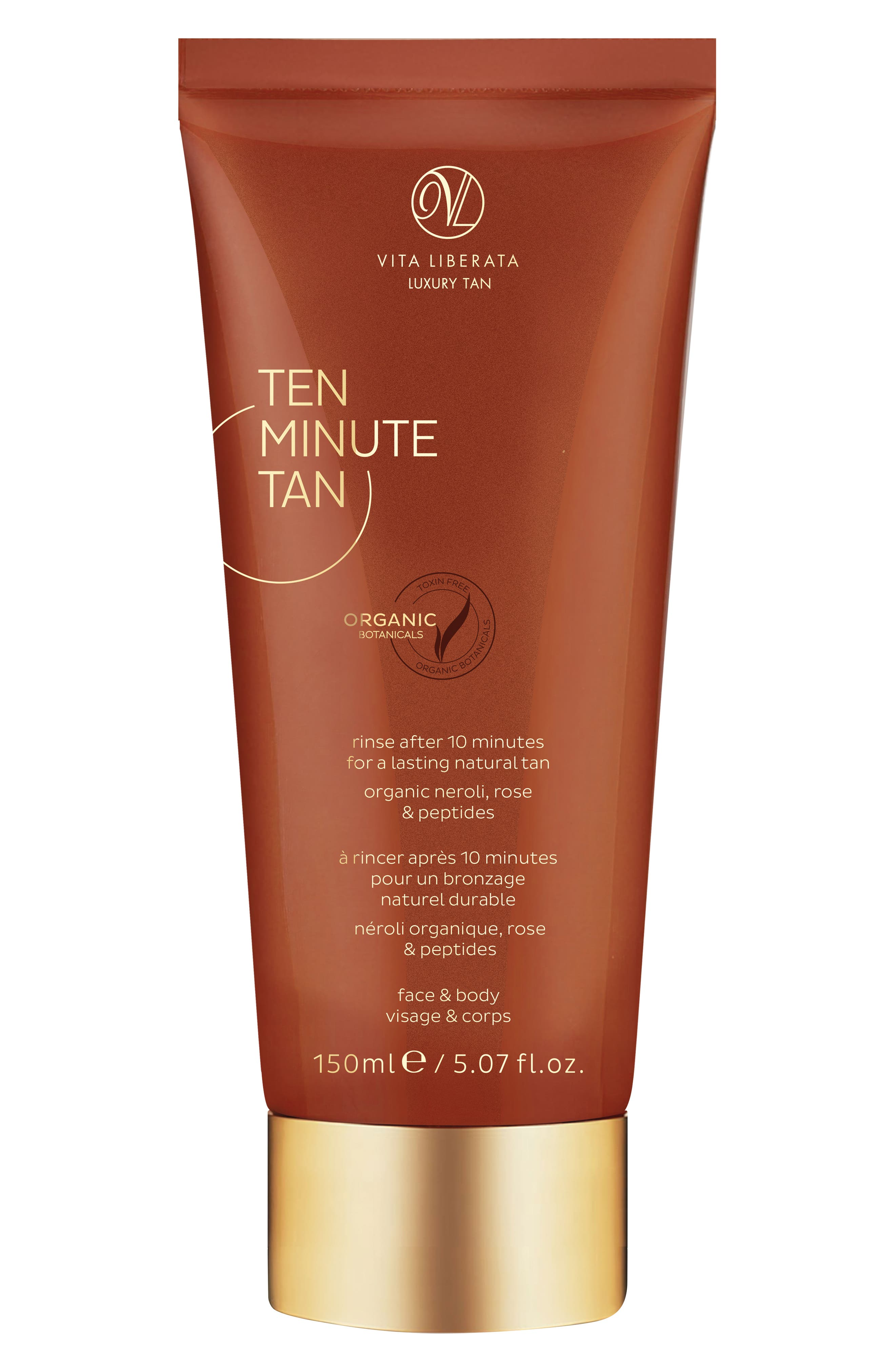 Ten Minute Tan for Face & Body,                             Main thumbnail 1, color,                             TAN