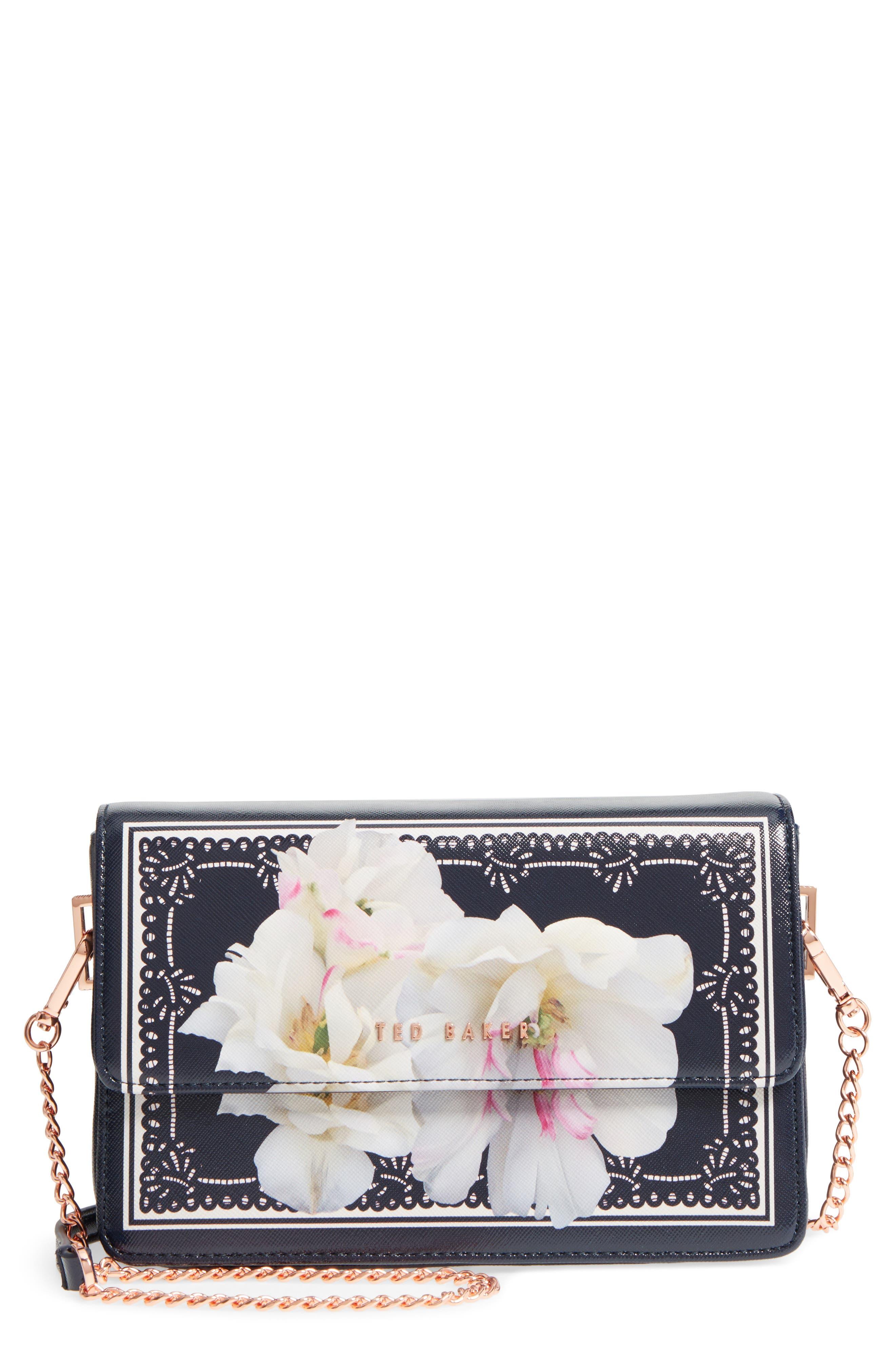 Tilleyy Gardenia Faux Leather Crossbody Bag,                             Main thumbnail 1, color,                             402