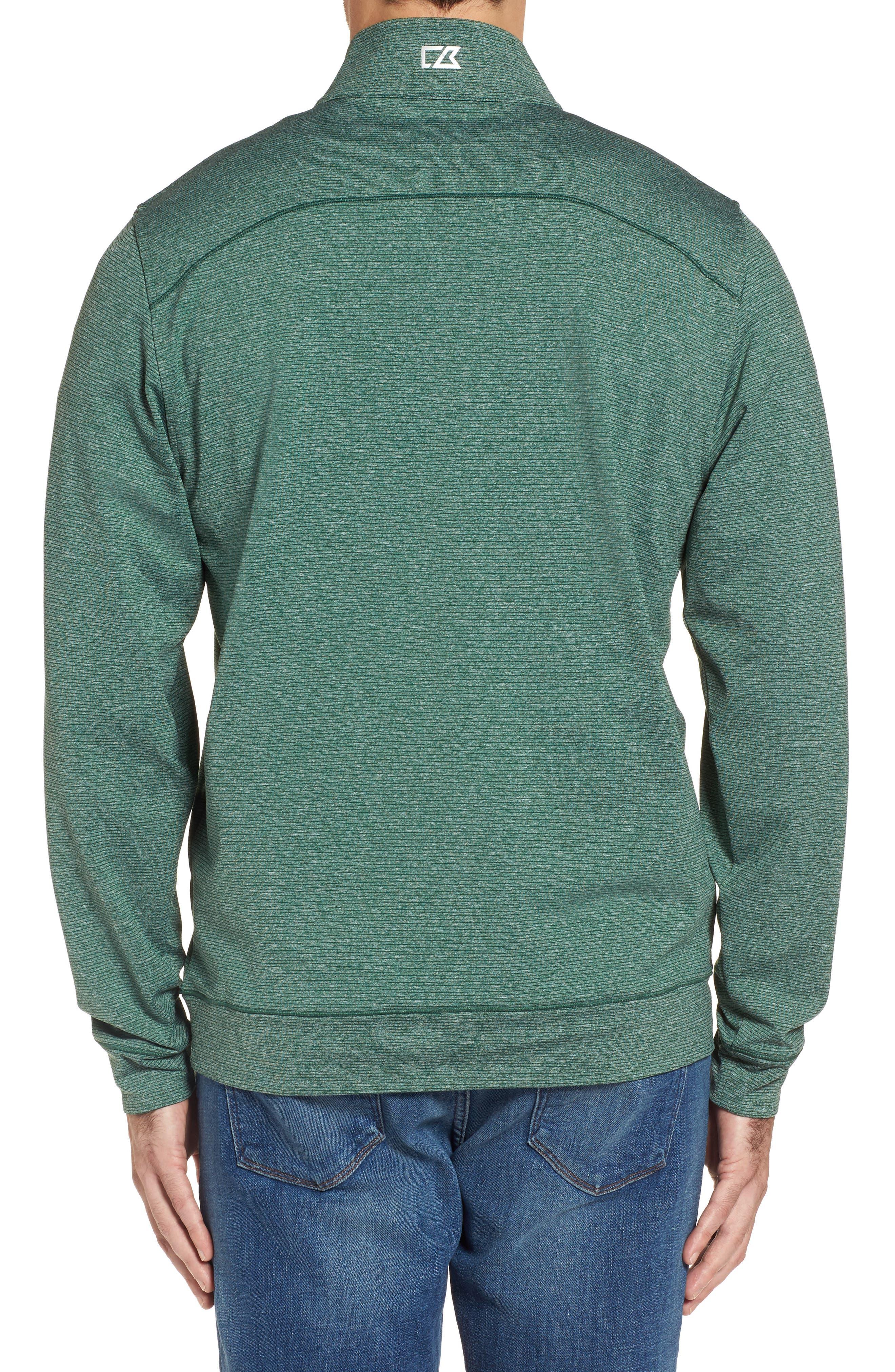 Shoreline - New York Jets Half Zip Pullover,                             Alternate thumbnail 2, color,                             308