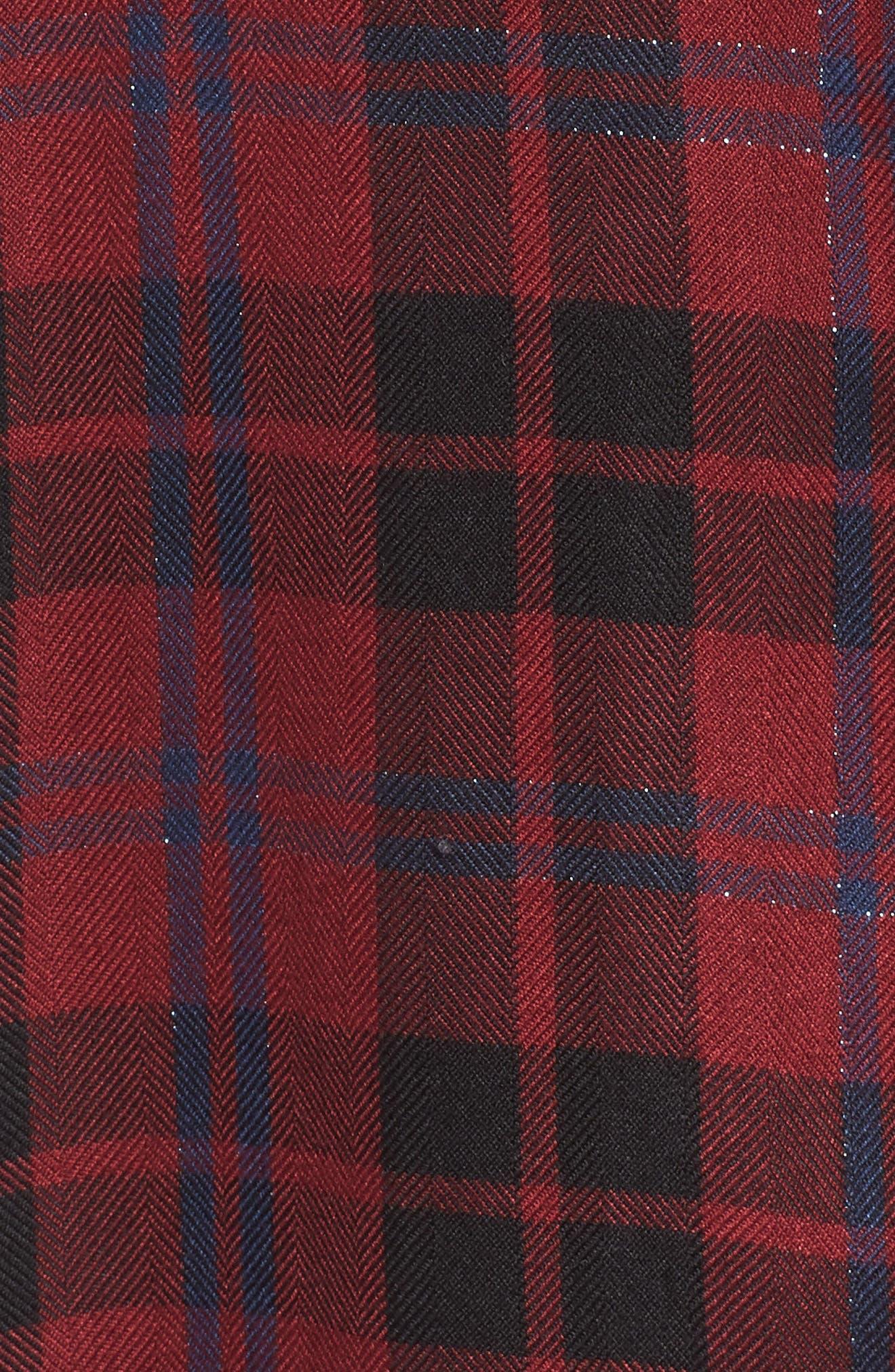 Hunter Plaid Shirt,                             Alternate thumbnail 555, color,