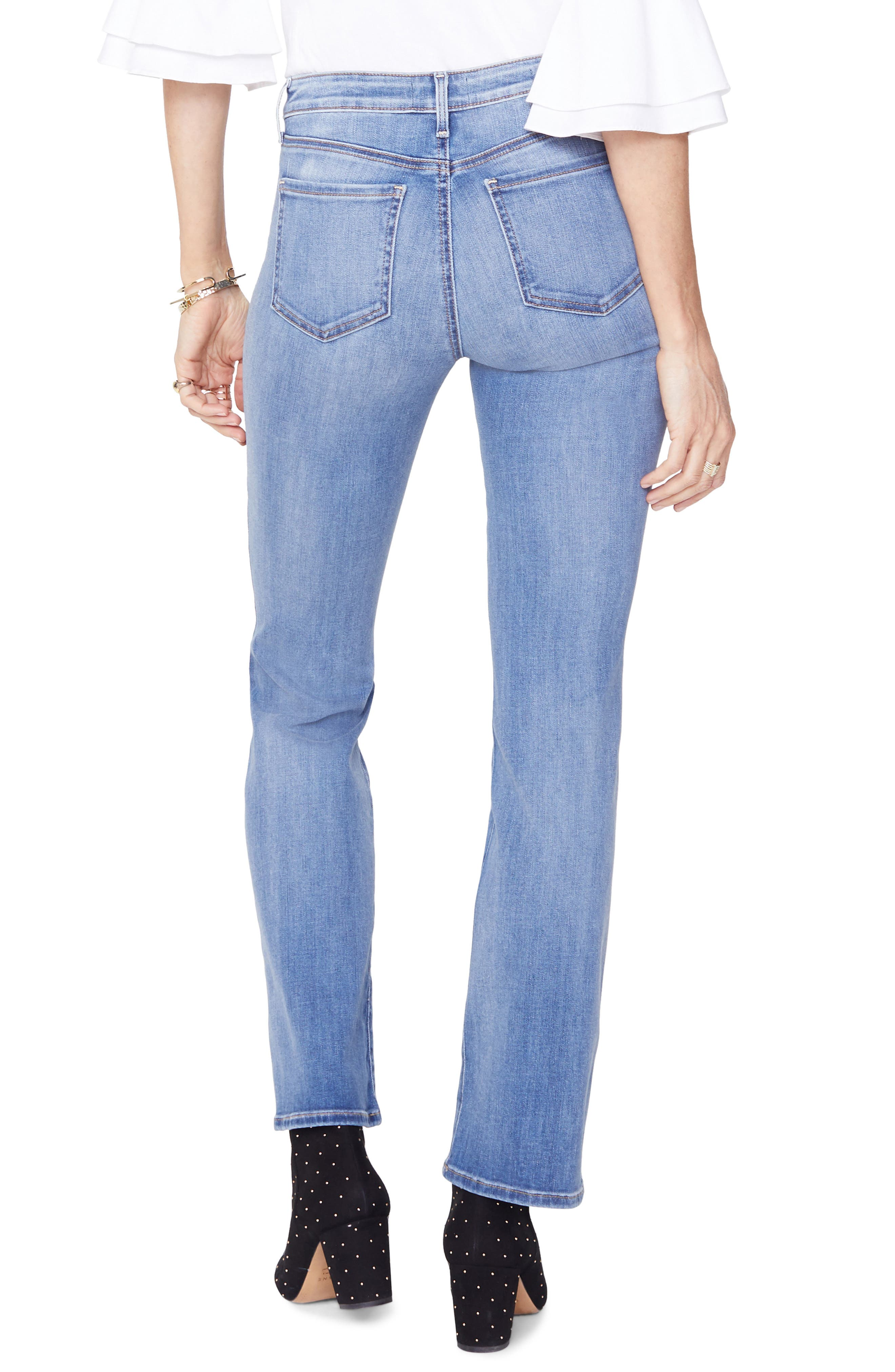 Barbara Bootcut Jeans,                             Alternate thumbnail 2, color,                             CLEAN CABRILLO