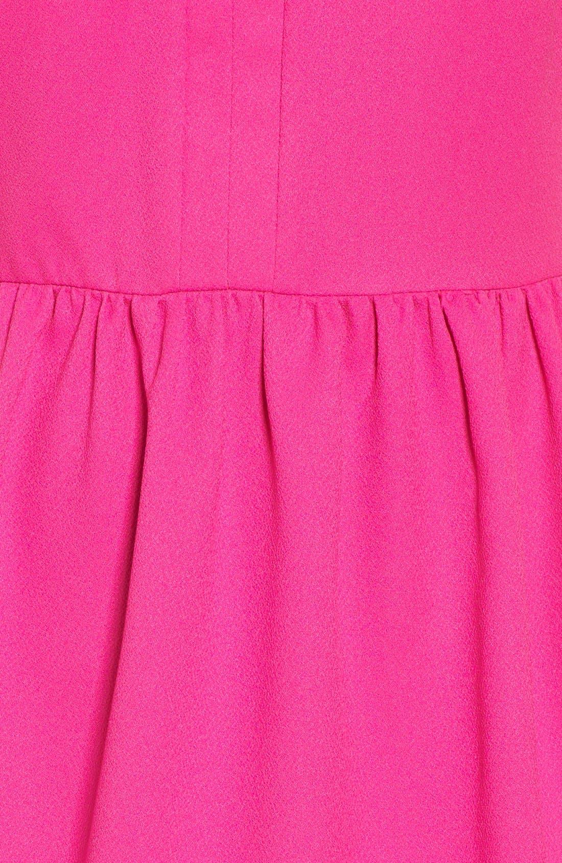 'Rowan' V-Neck Skater Dress,                             Alternate thumbnail 51, color,