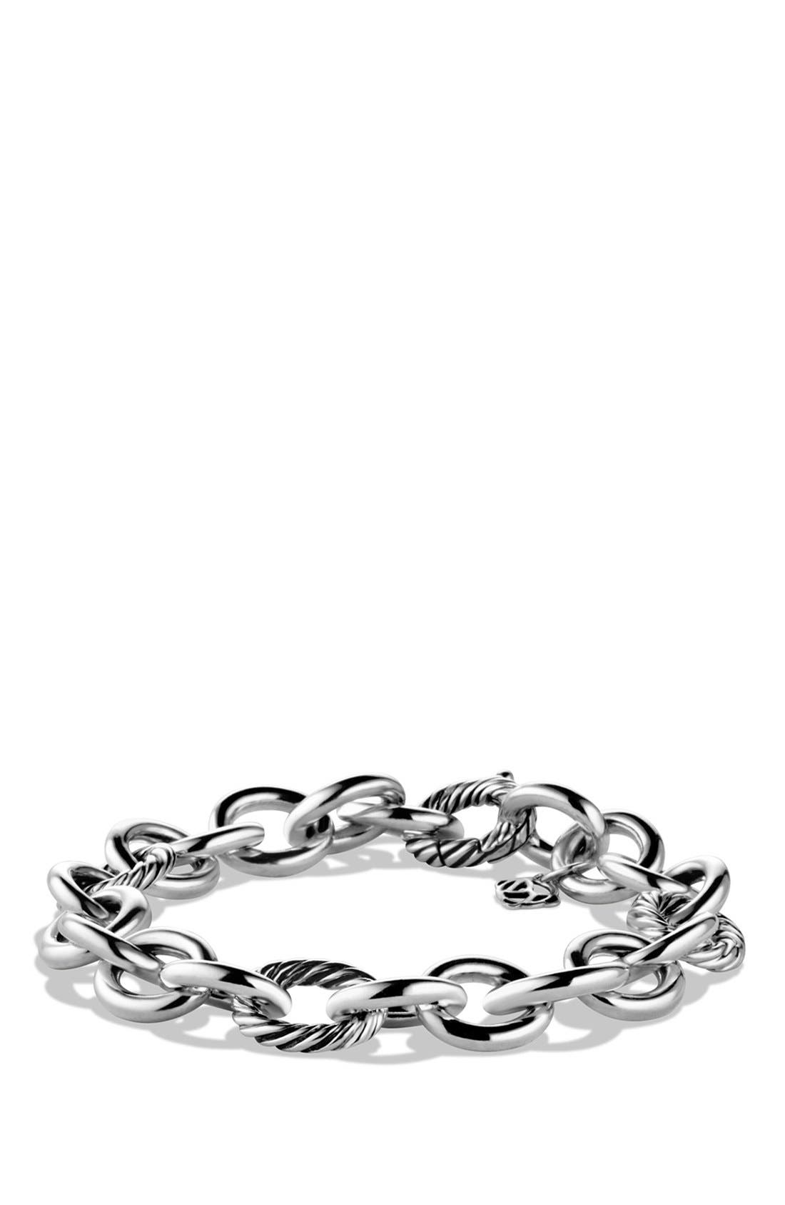 'Oval' Large Link Bracelet,                             Main thumbnail 1, color,                             040