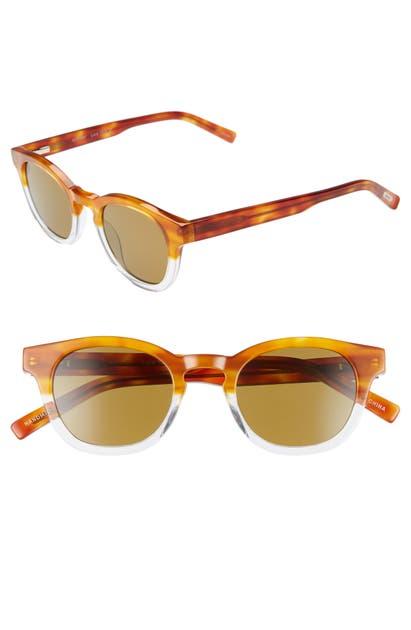 Eyebobs Sunglasses LAID 46MM POLARIZED SUNGLASSES - LIGHT TORTOISE W/ CRYSTAL