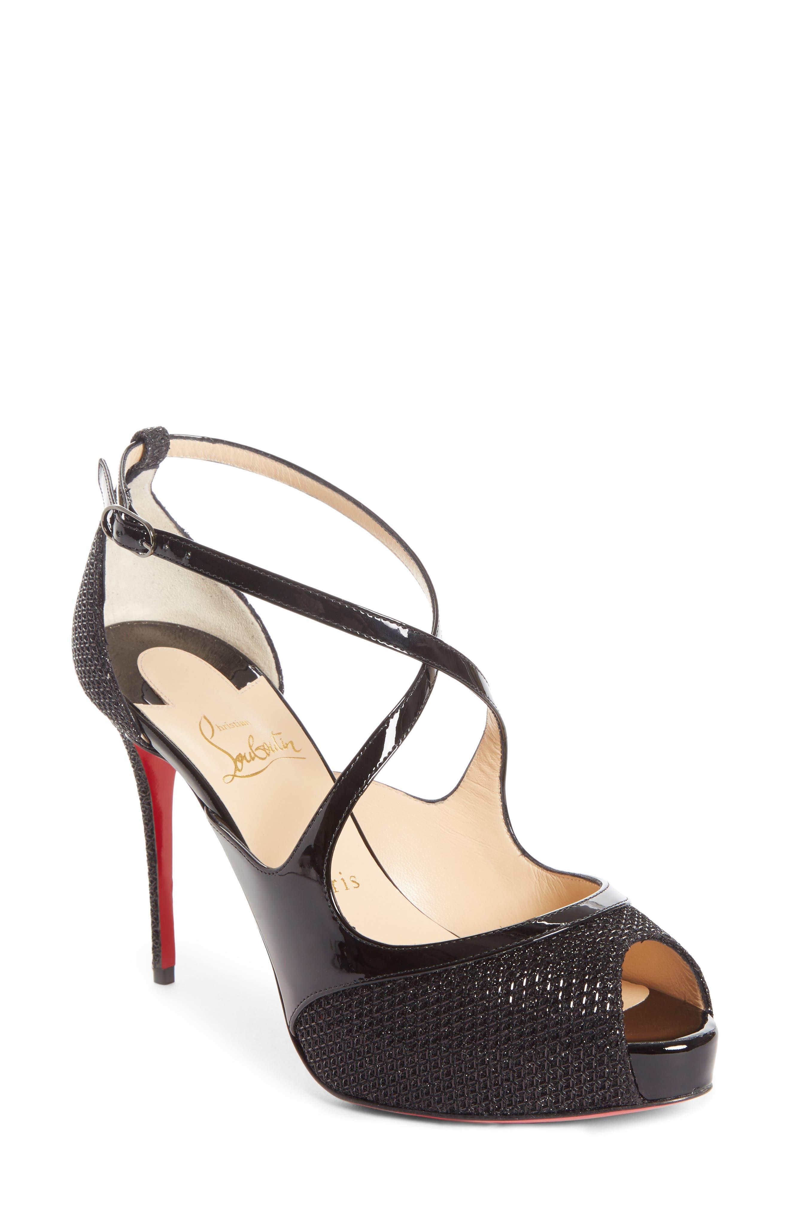 Mira Bella Sandal,                         Main,                         color, BLACK