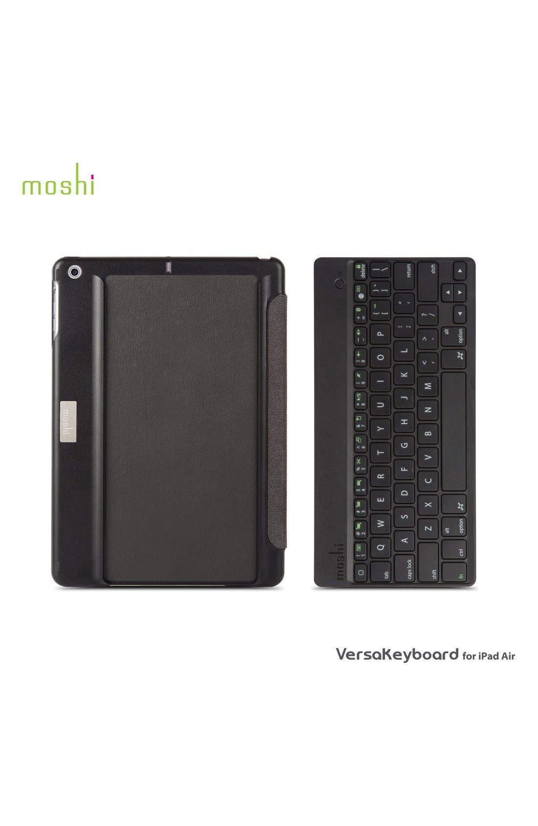 'VersaKeyboard' iPad Air Keyboard & Cover,                             Alternate thumbnail 4, color,                             001