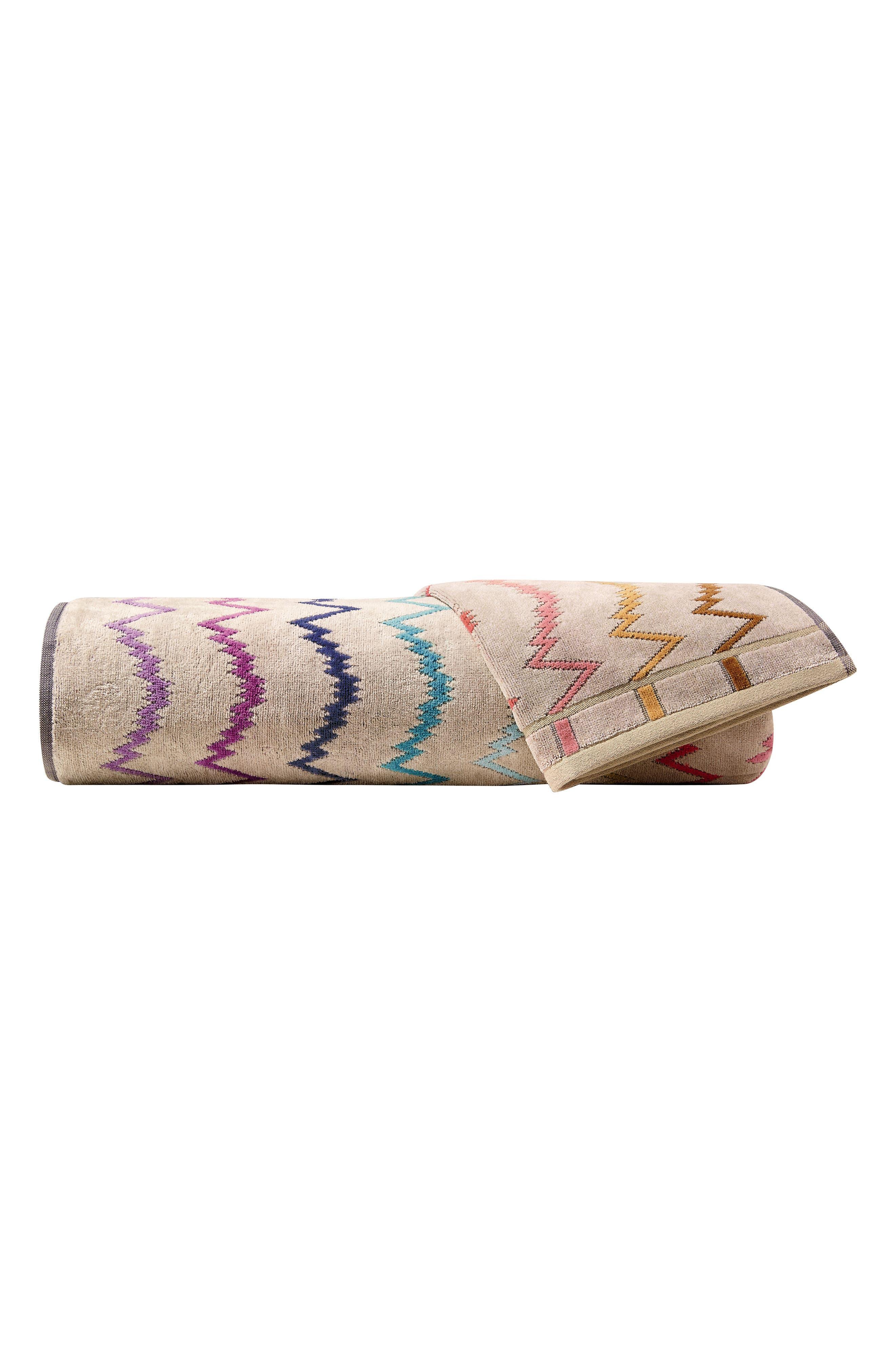 Vera Bath Towel,                             Main thumbnail 1, color,                             MULTI