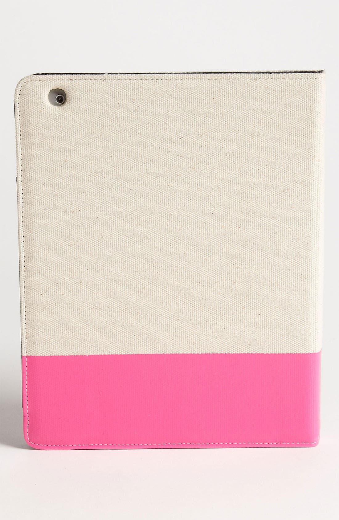 KATE SPADE NEW YORK,                             'mani pedi' iPad 2 & 3 folio,                             Alternate thumbnail 4, color,                             101