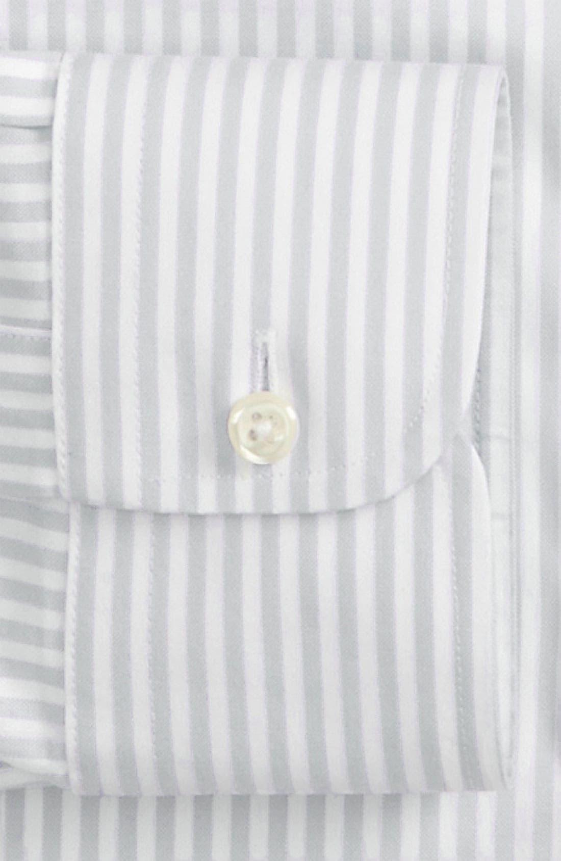 NORDSTROM MEN'S SHOP,                             Smartcare<sup>™</sup> Traditional Fit Stripe Dress Shirt,                             Alternate thumbnail 2, color,                             020